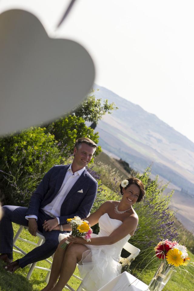Ceremonie Toscaanse Bruiloft