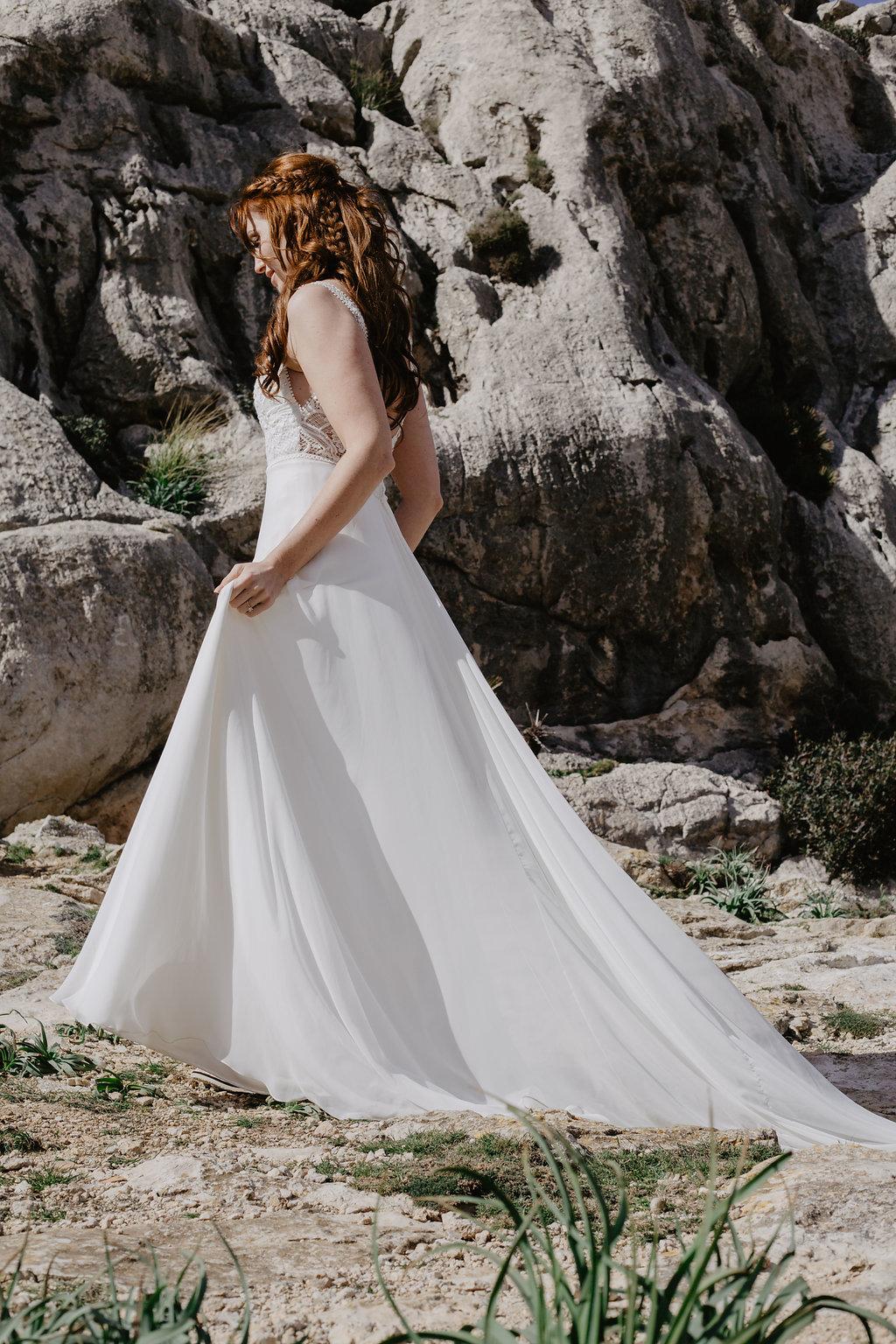 Bruidsfotografie Bruid destination wedding photographer