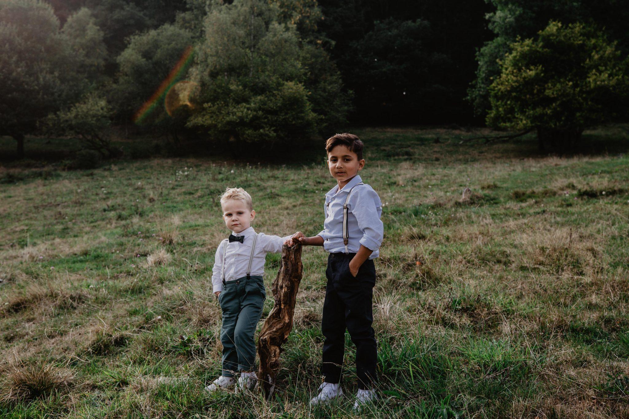 Fotoreportage kids op de bruiloft