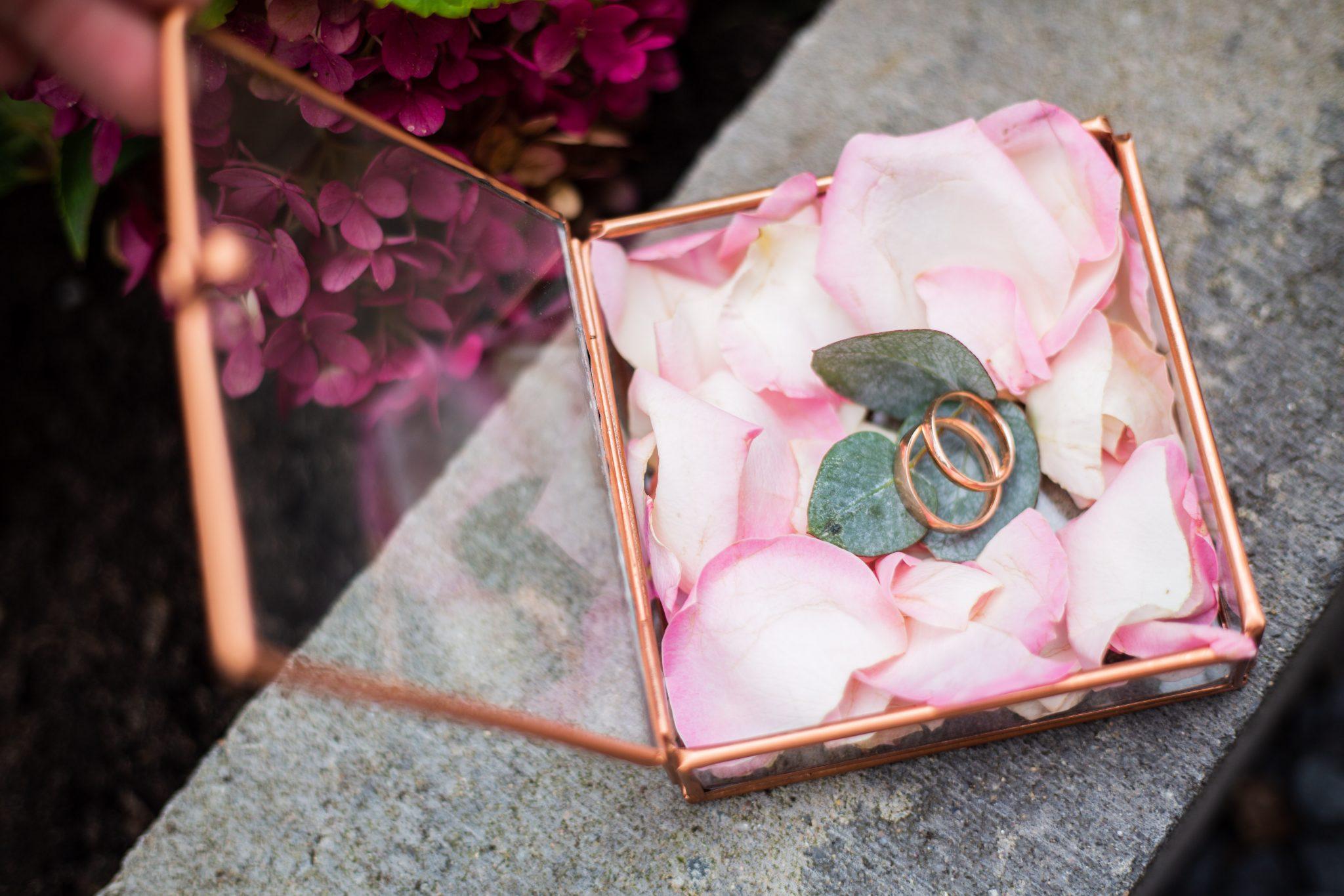 Inspiratie doosje trouwringen