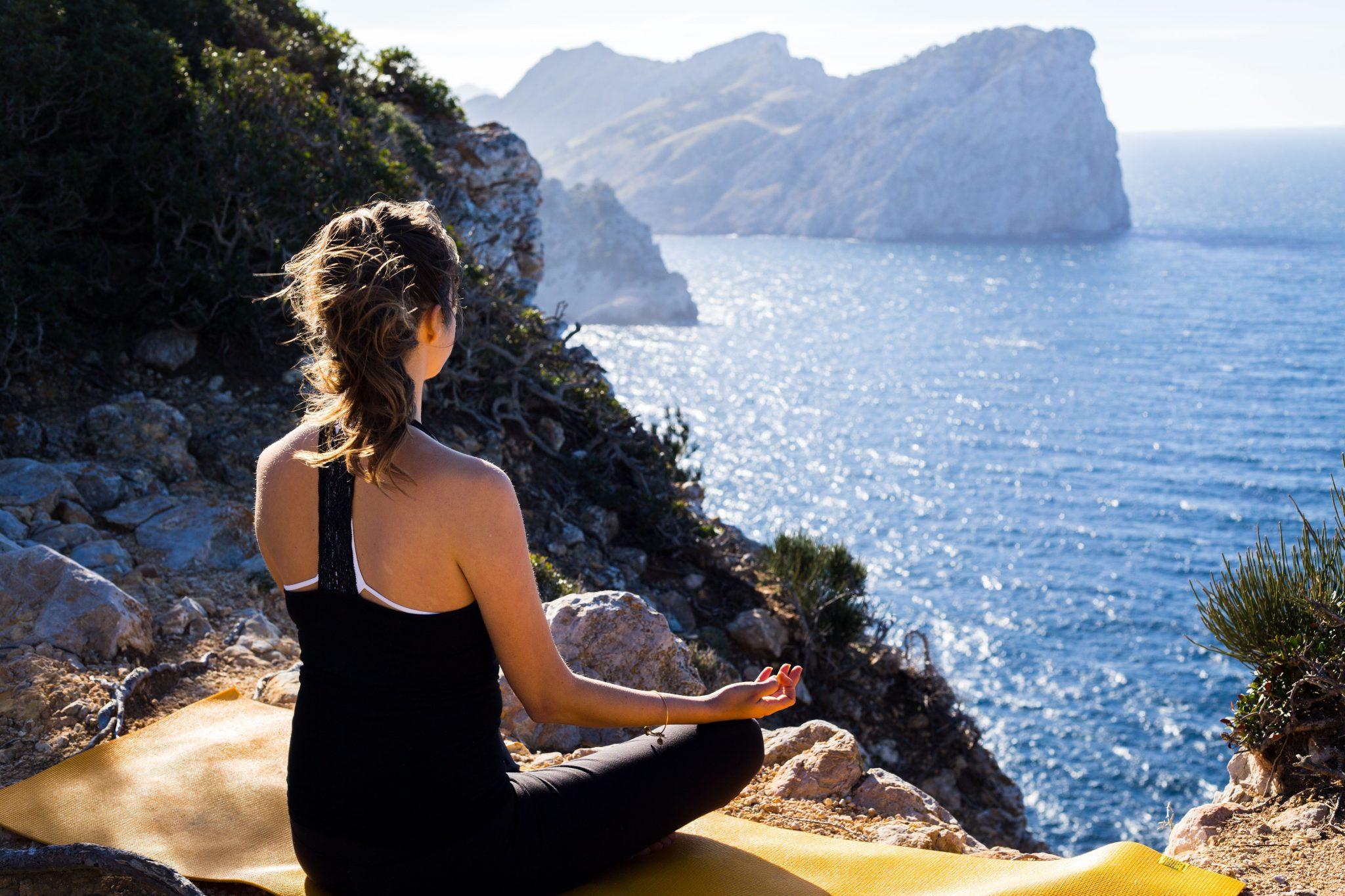 Yoga op het eiland Mallorca