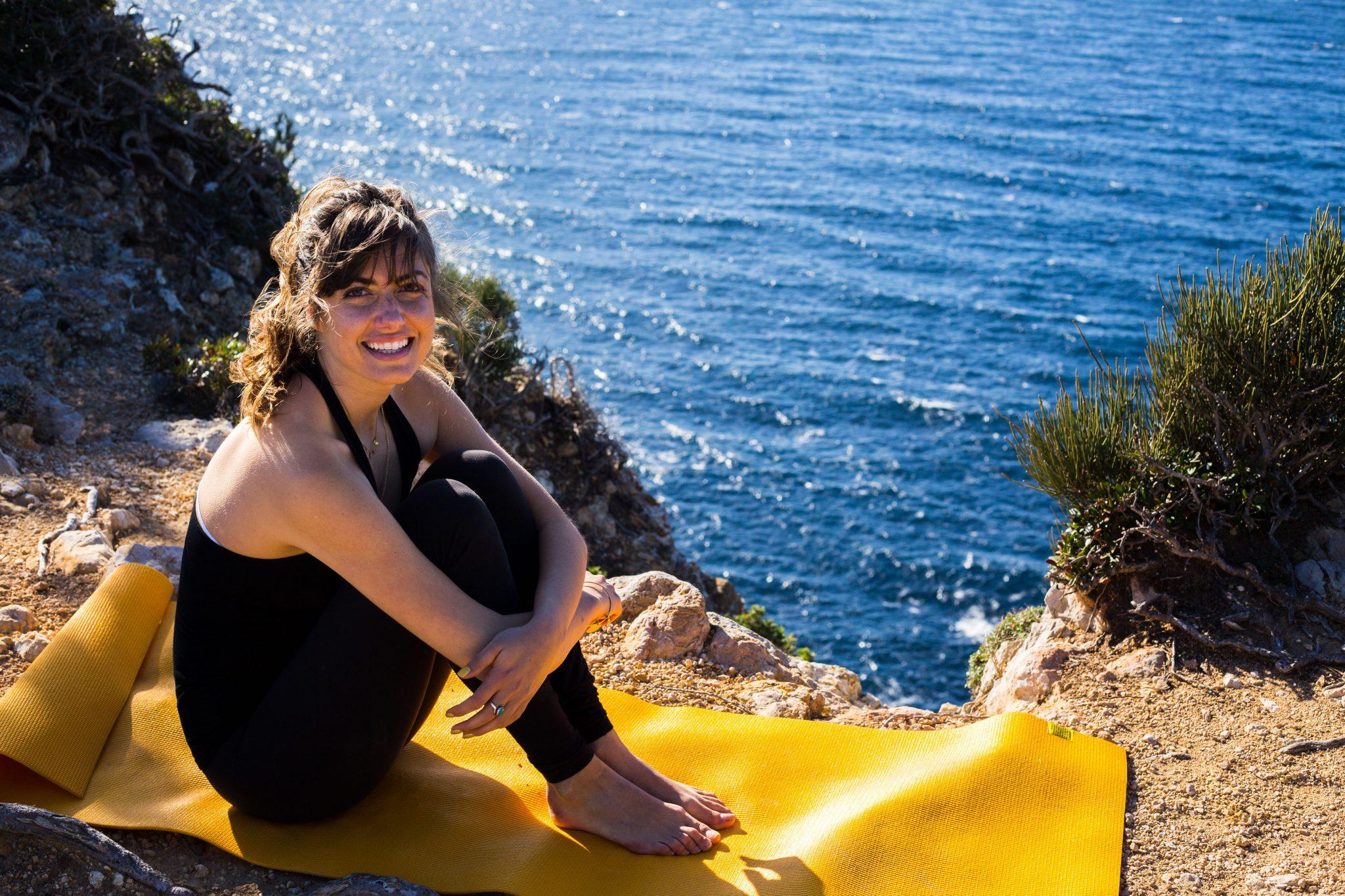 Yoga teacher Kaeli Renae Mallorca
