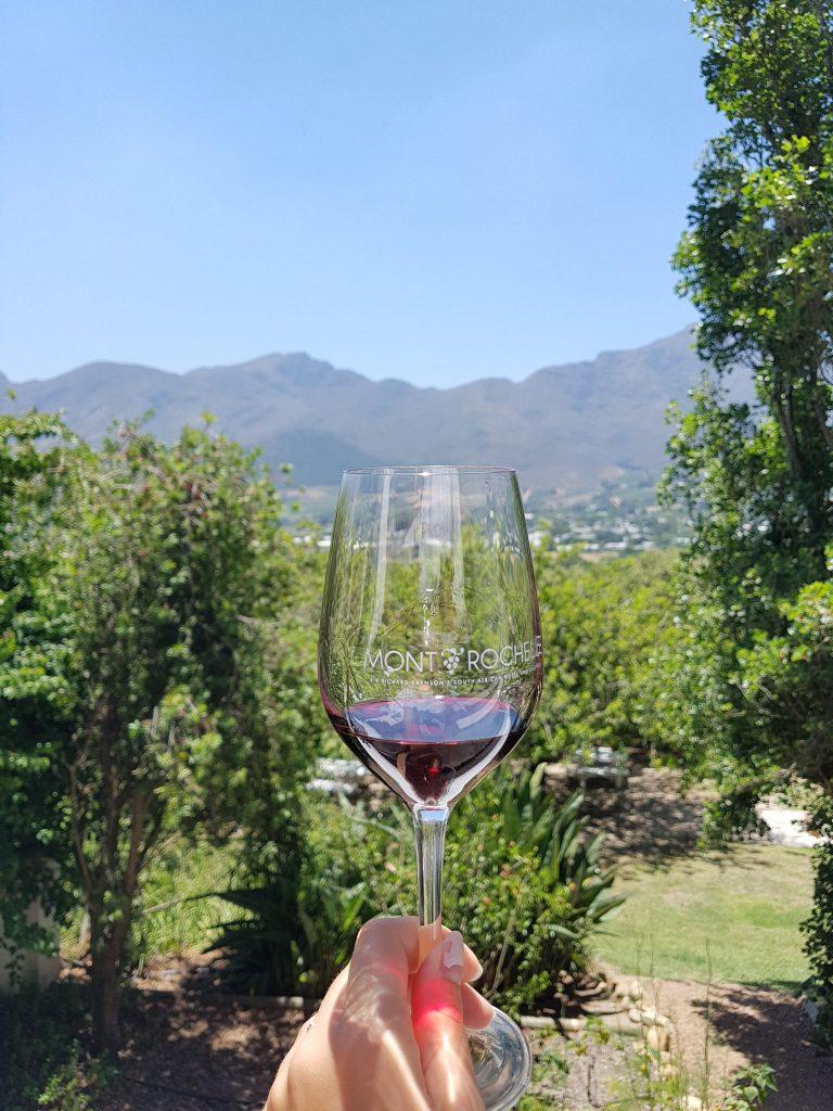 Wine tasting Franschhoek Zuid-Afrika