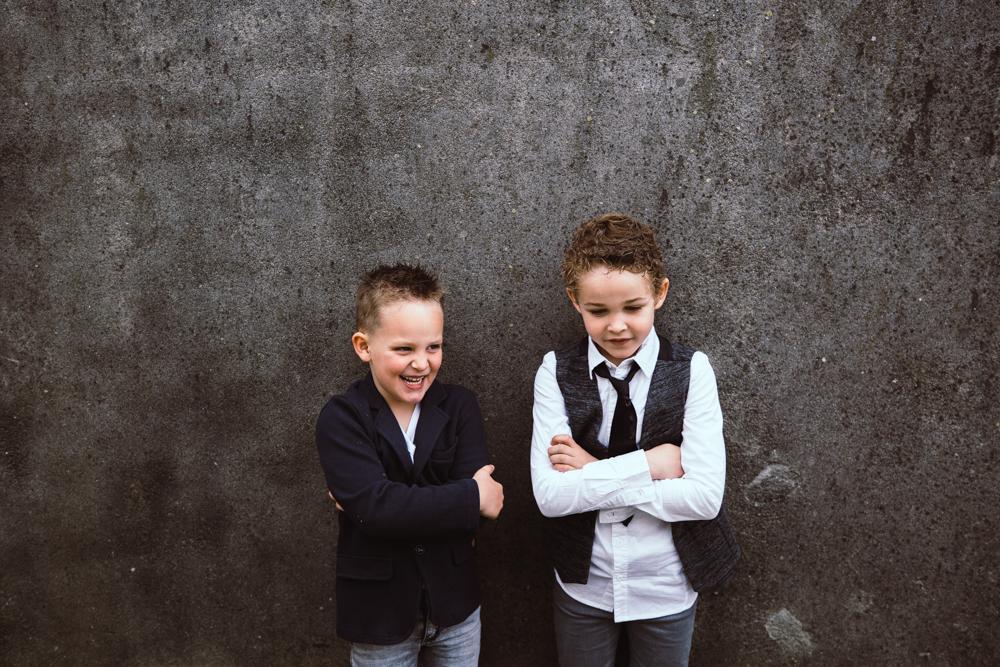 Kids op bruiloft