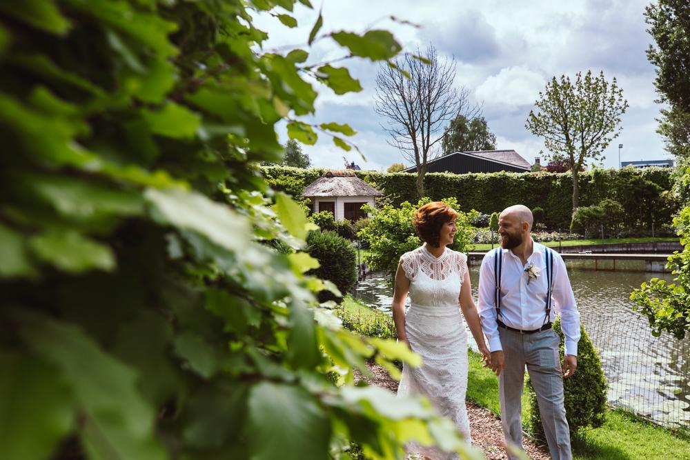 Bruiloft fotoreportage IJsselmuiden