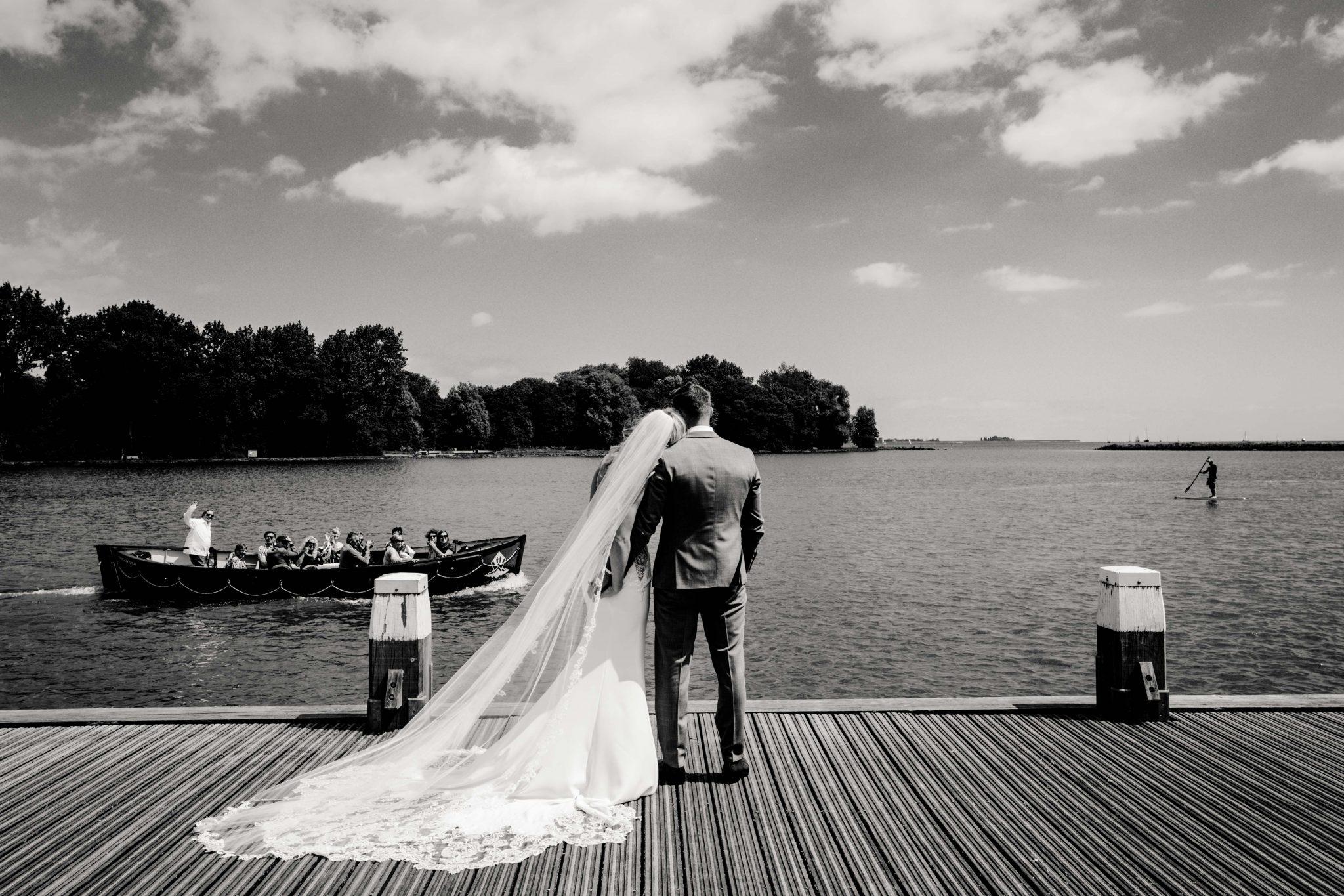 Fotoshoot Hoorn bruidspaar