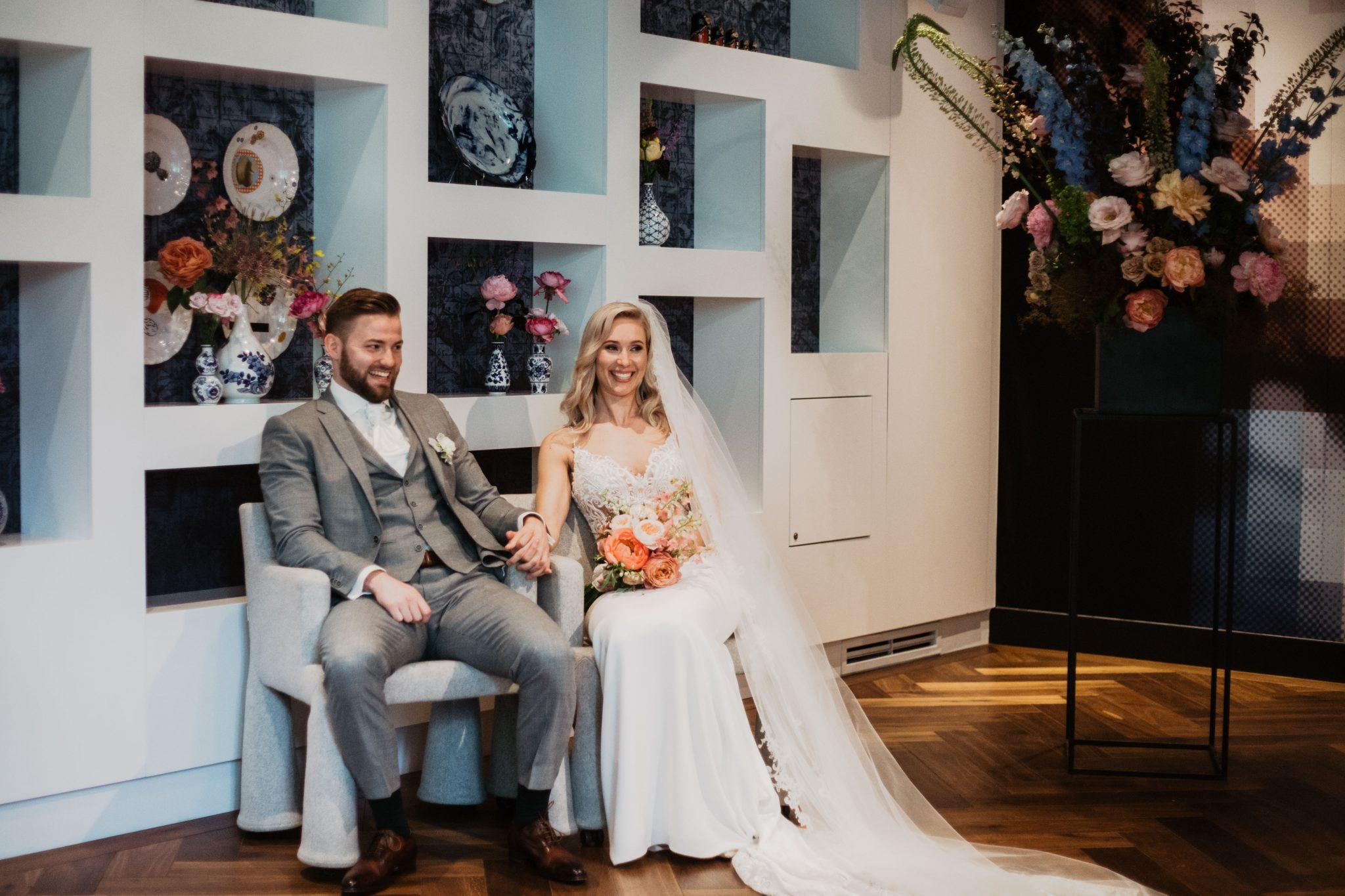 Ceremonie trouwen in Amsterdam Andaz hotel