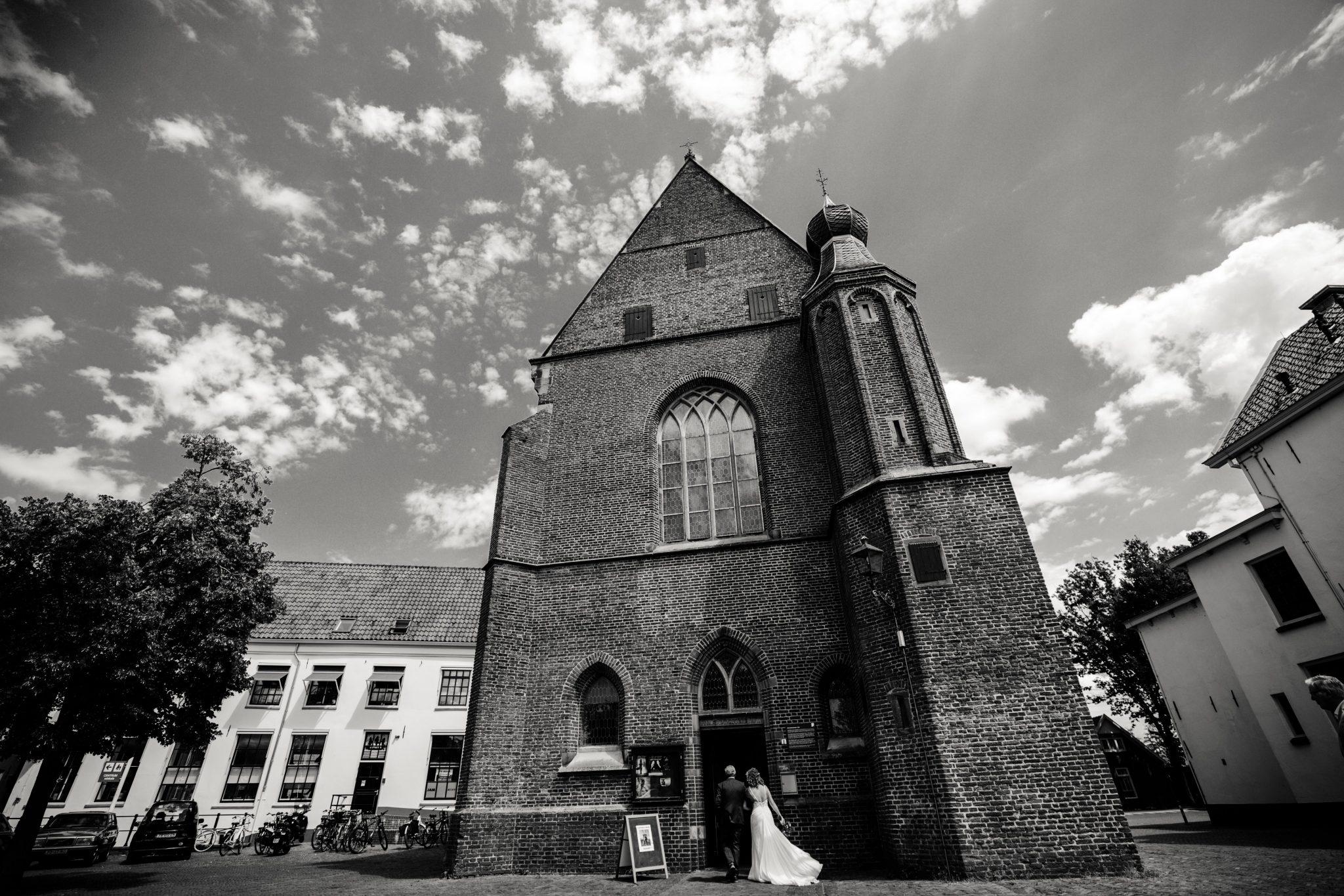 Bruiloft catharinakapel Harderwijk