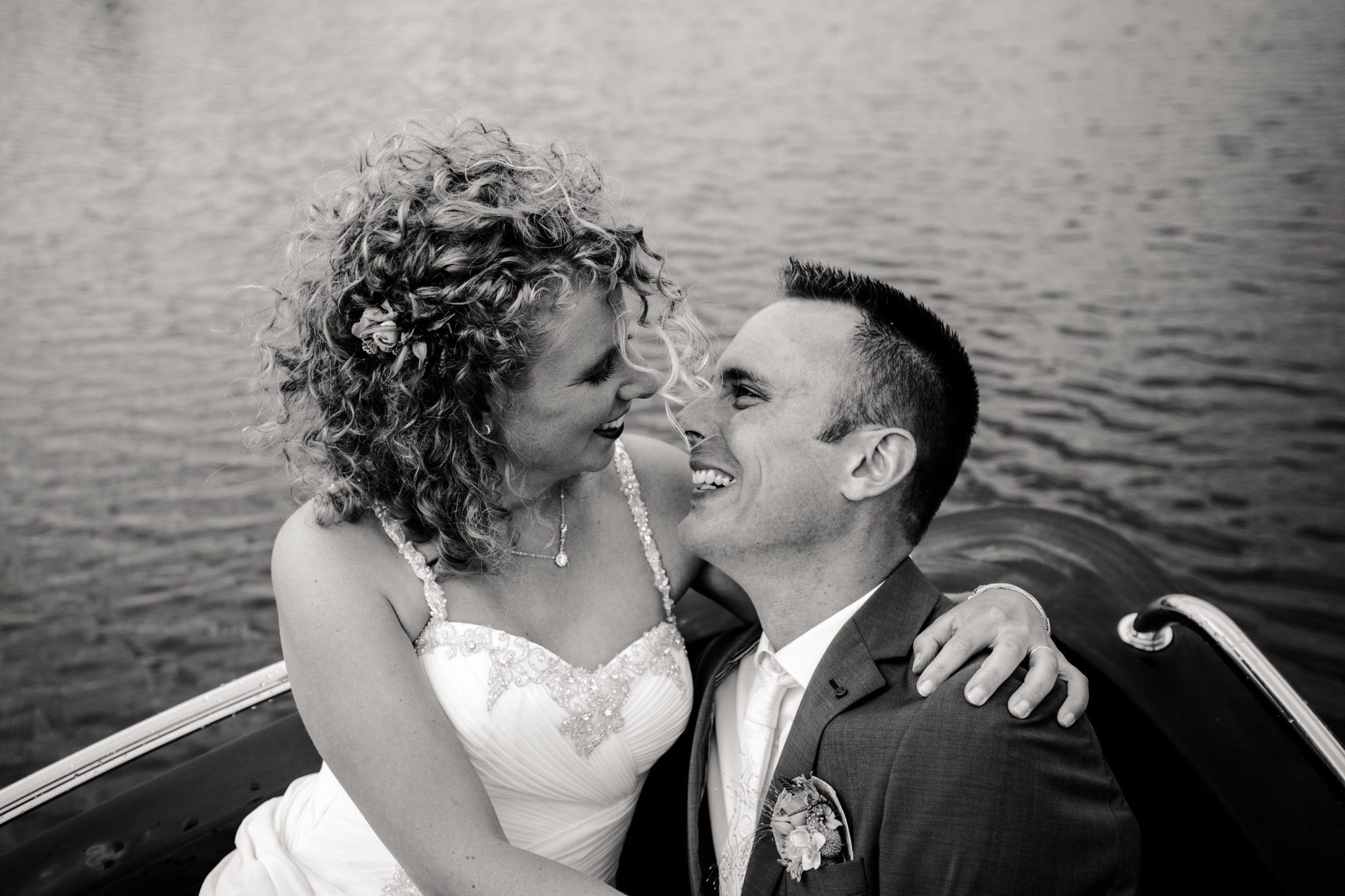 Bruiloft Trouwen op een boot