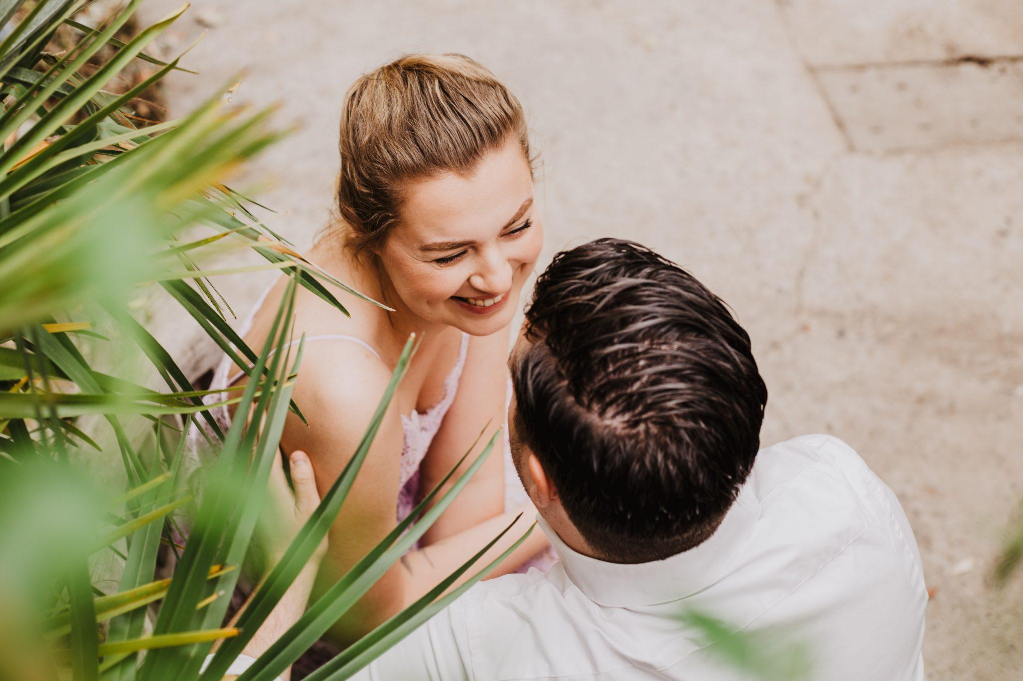 portret geliefde bruidsfotografie