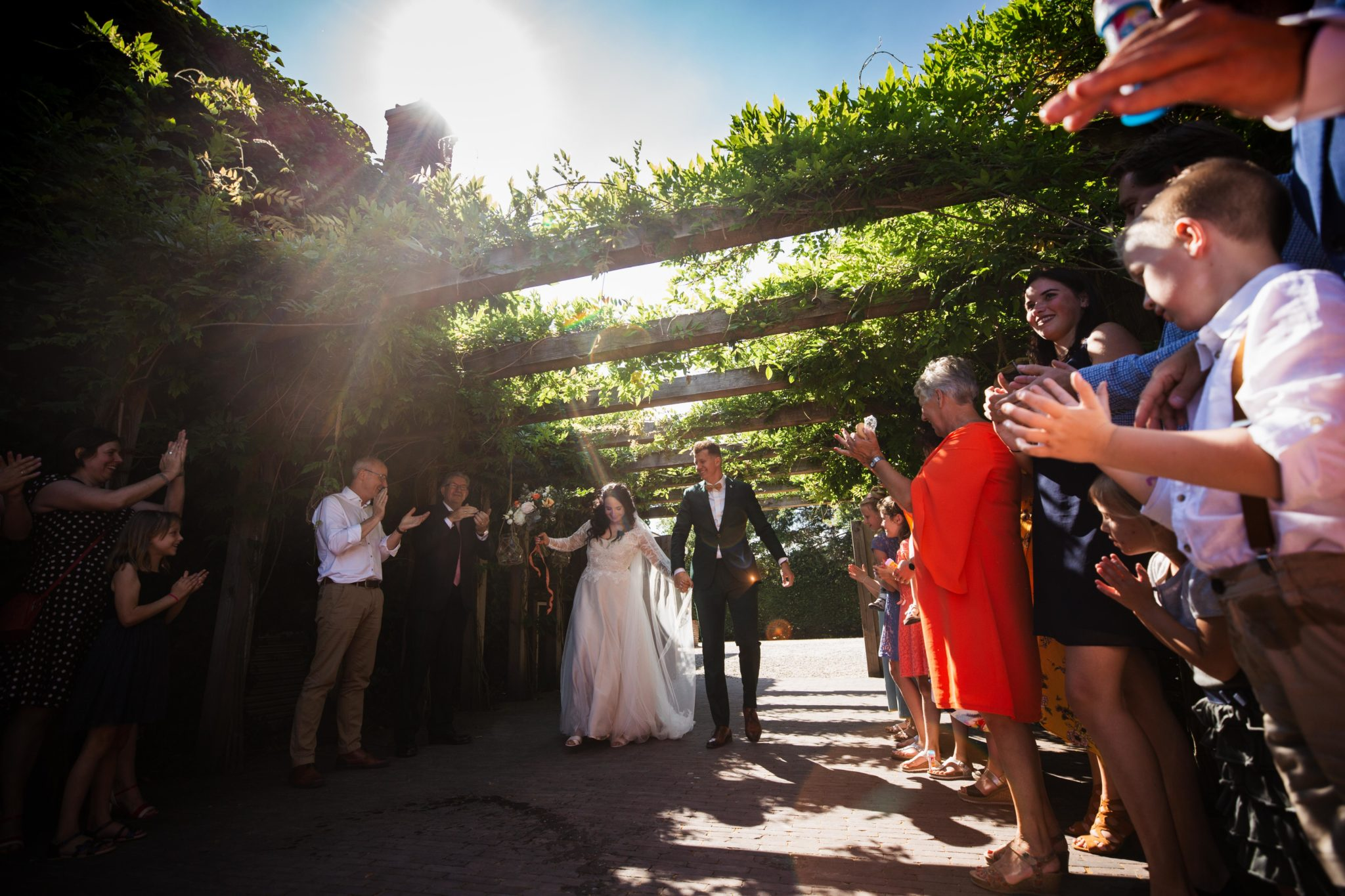 entree Bruiloft in het bos van Leusden