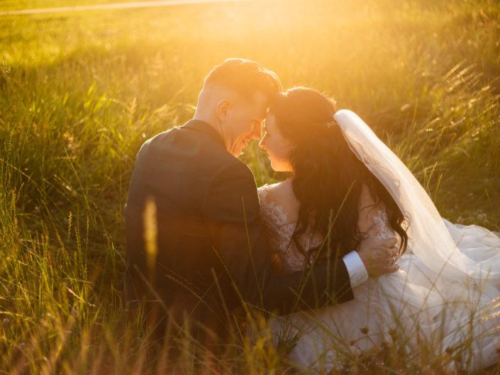 Bruiloft in het bos van Leusden