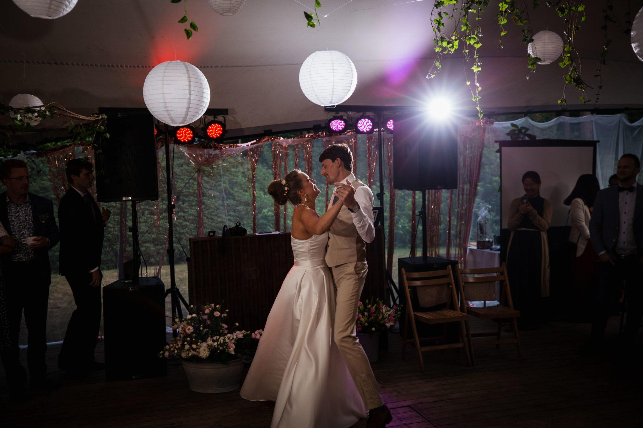 Openingsdans bruidspaar fotograaf