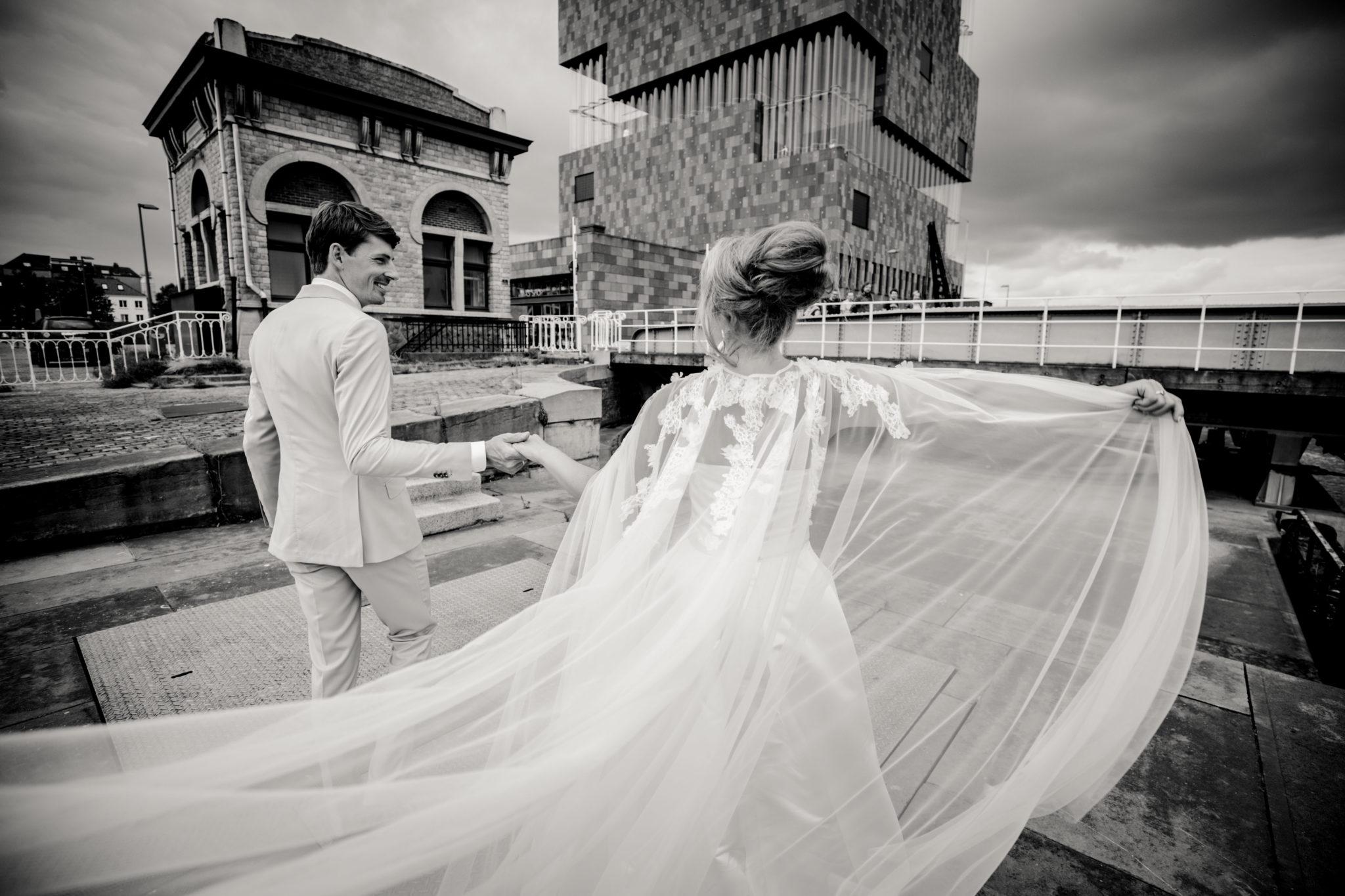 Bruidspaar fotografie Mas Antwerpen