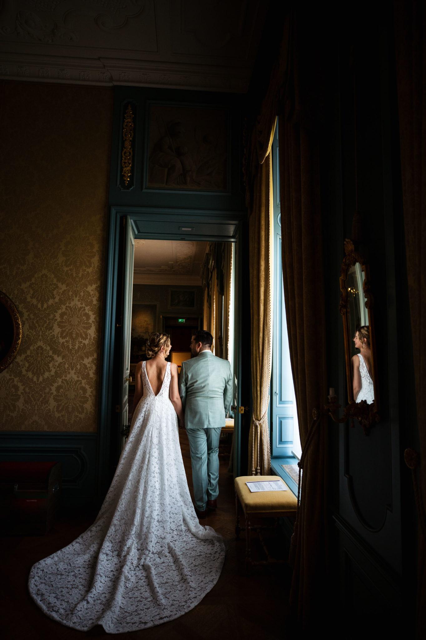 Fotoshoot bruiloft Markiezenhof