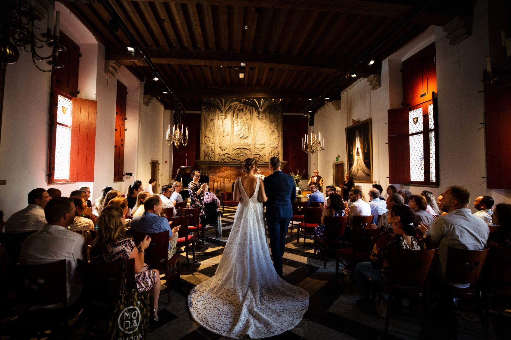 Ceremonie Bruiloft Bergen op Zoom