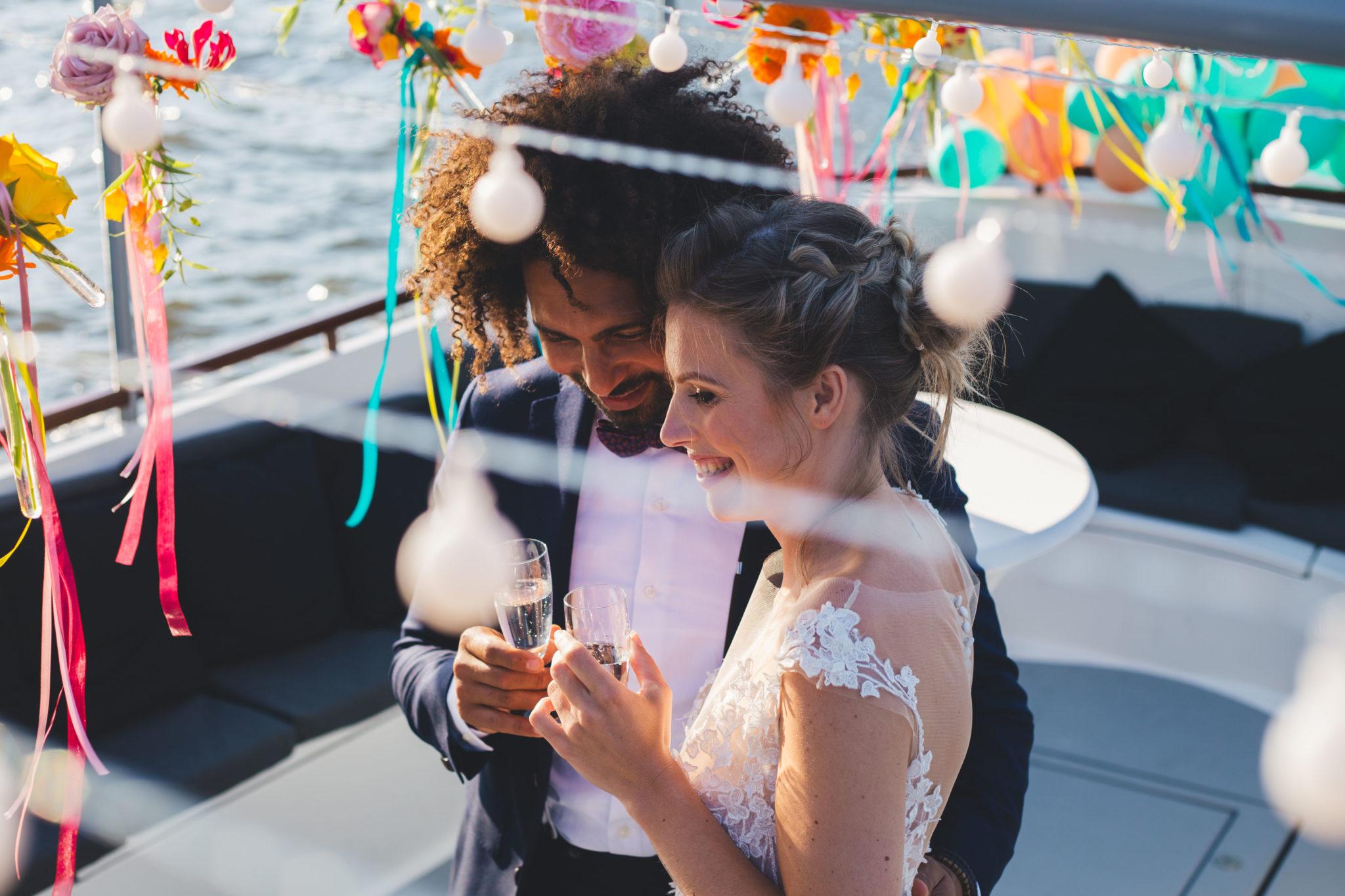 Trouwen op een boot Amsterdam