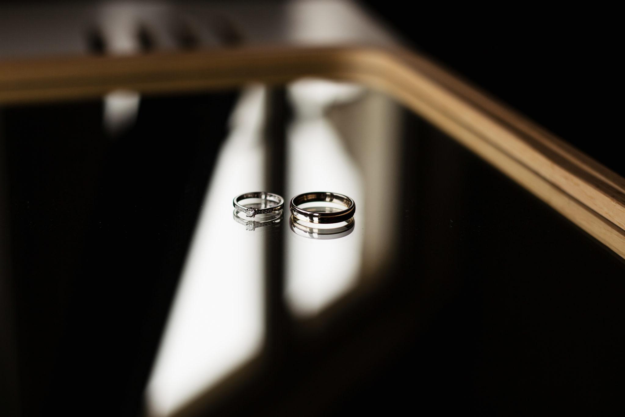 Trouwringen bruidsfotografie