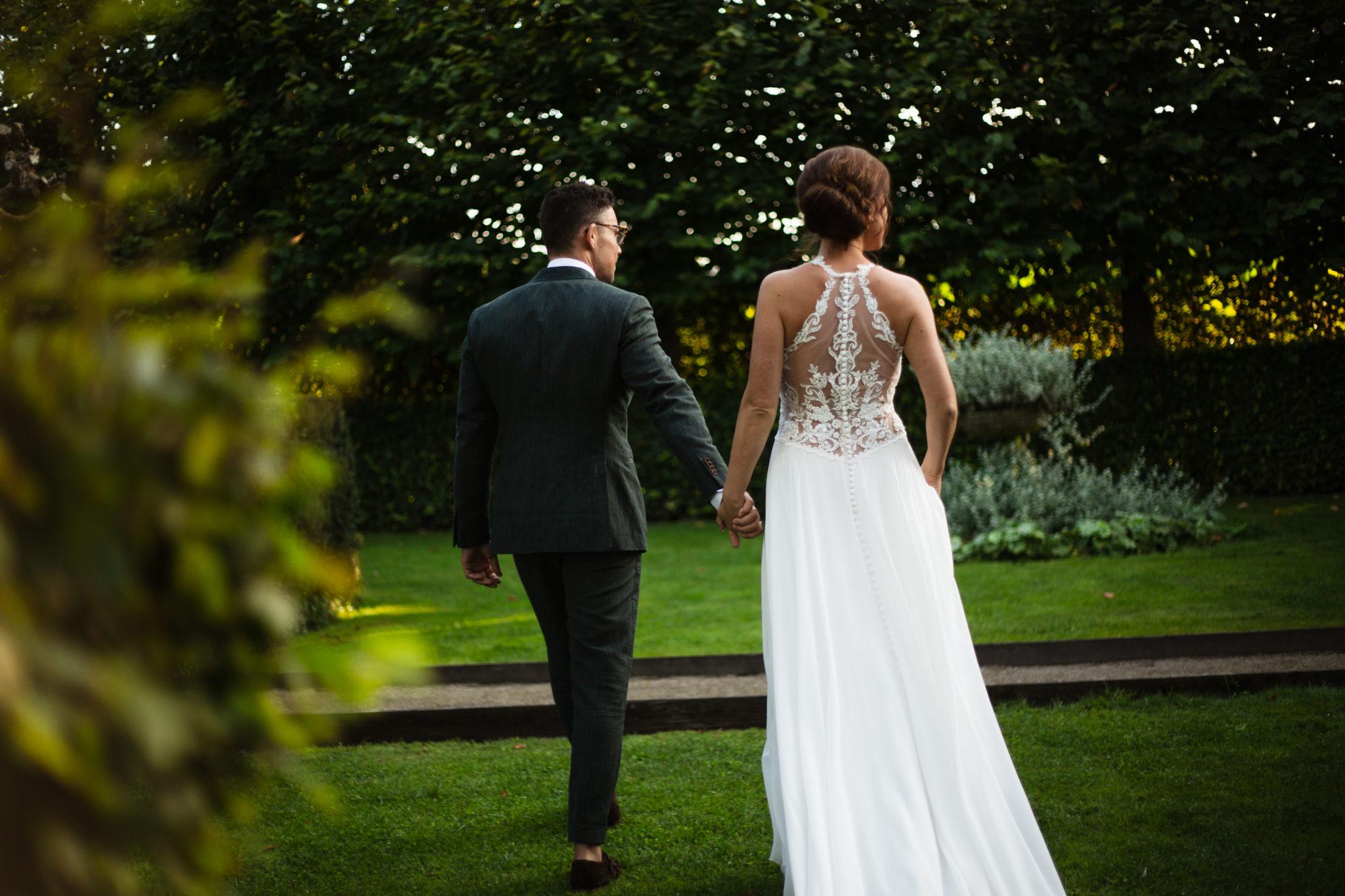 Bruidspaar trouwen De Vlaamsche Spijcker