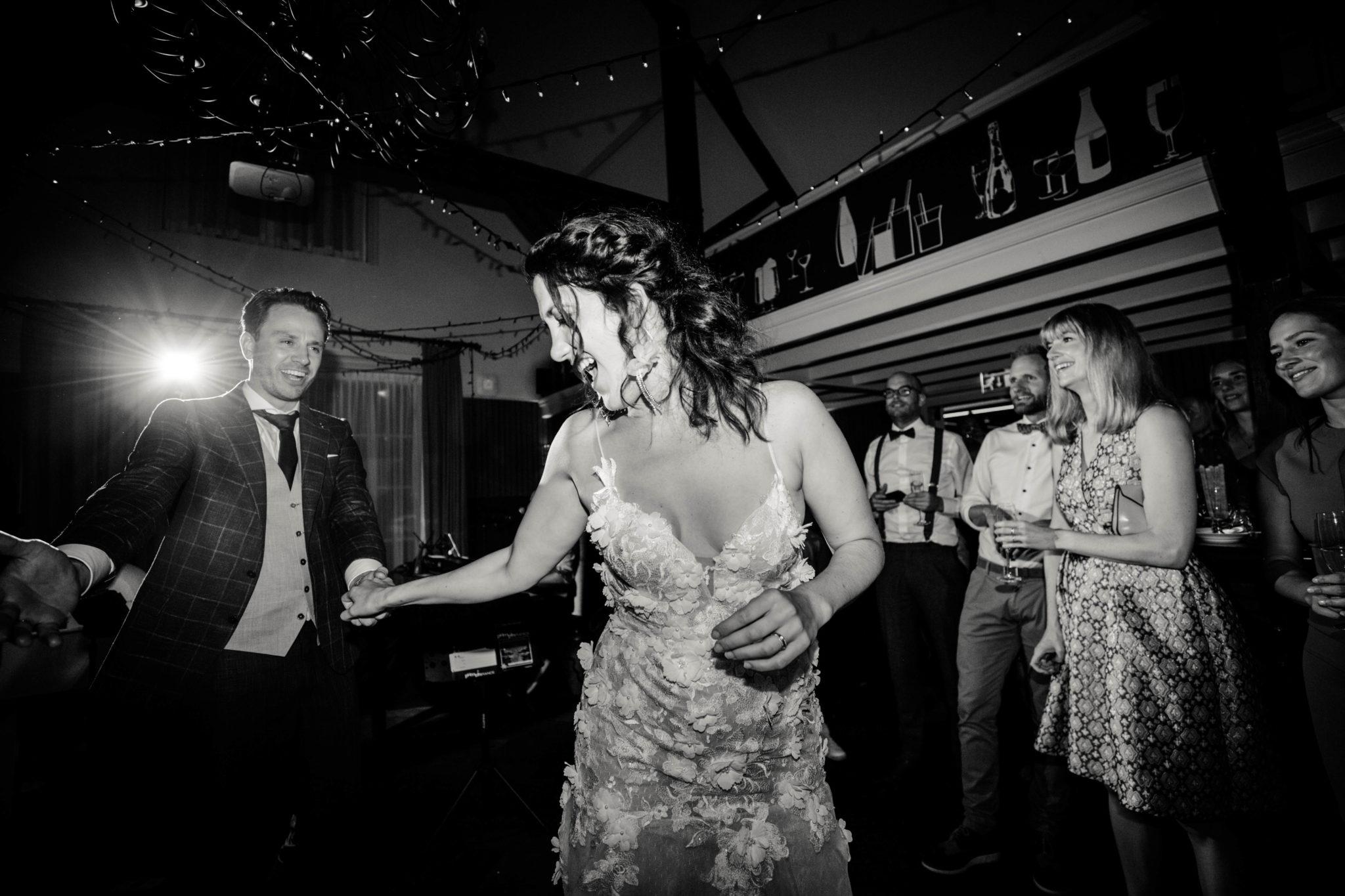 Openingsdans bruiloft Putten