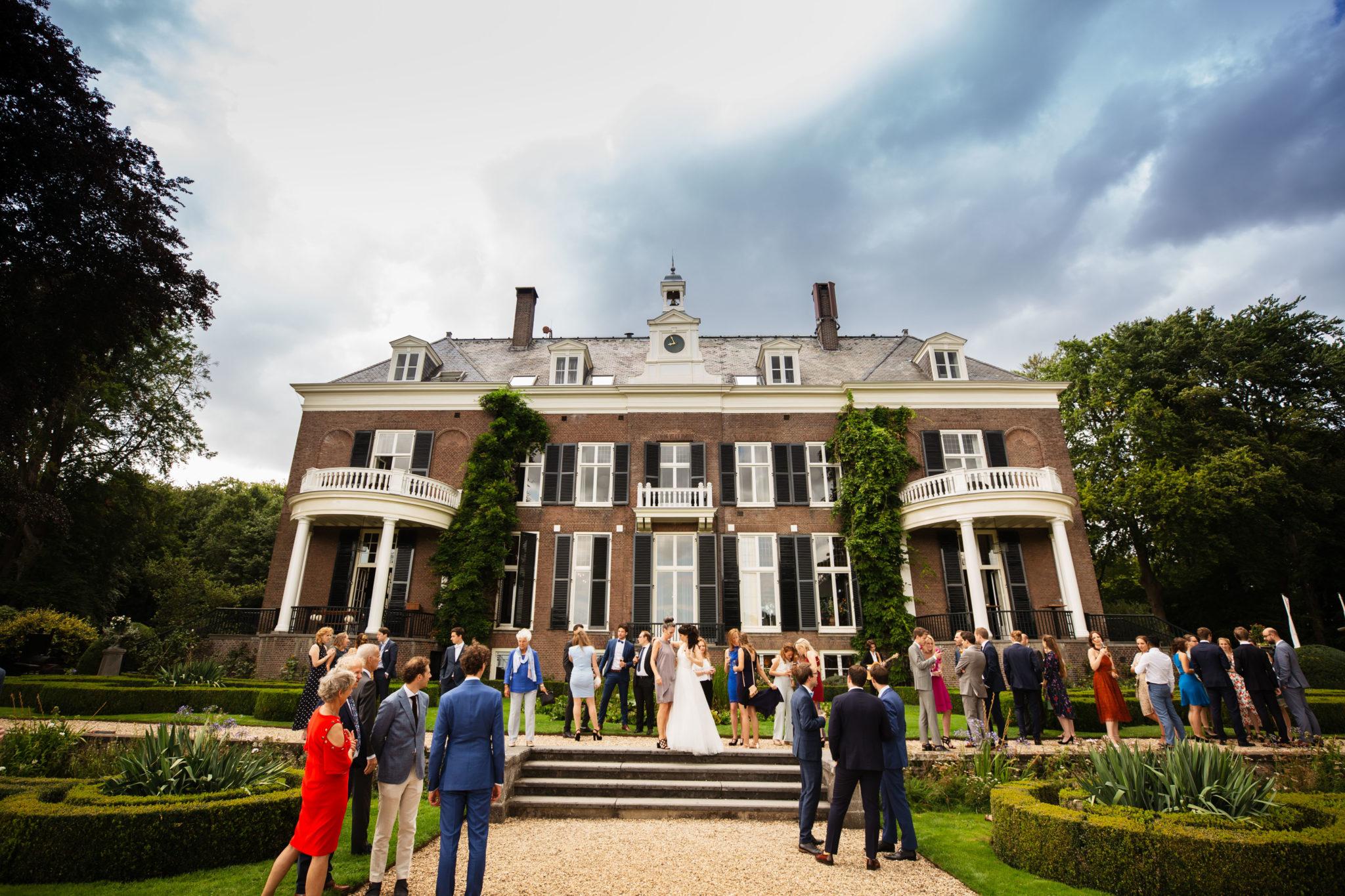 Bruiloft Borrel Landgoed Rhederoord