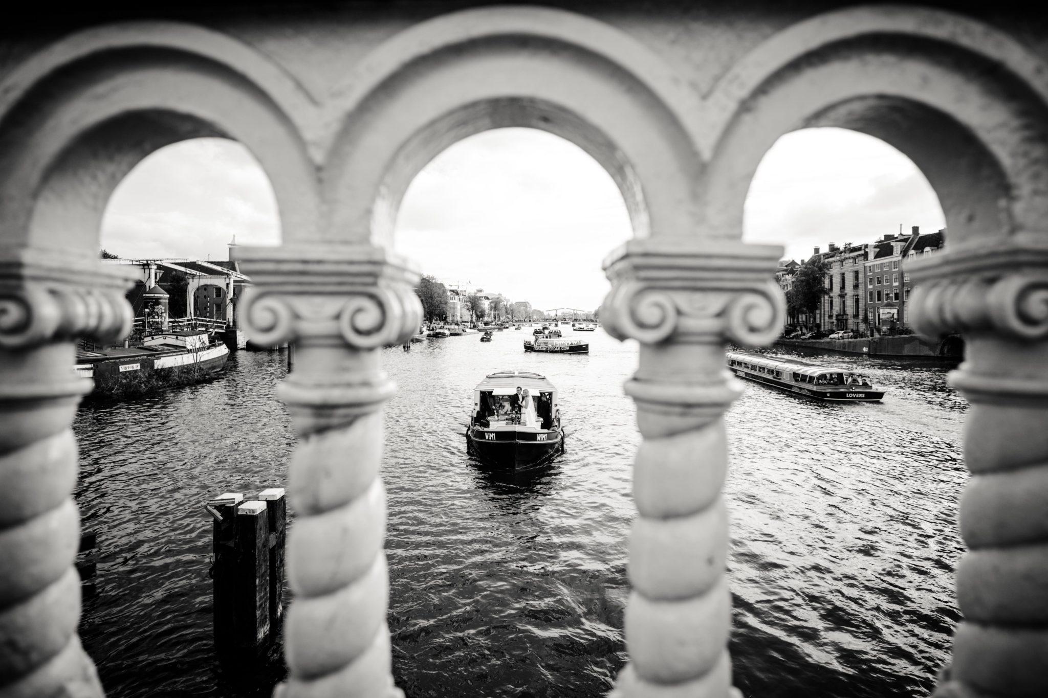 Boot Bruiloft Amsterdam
