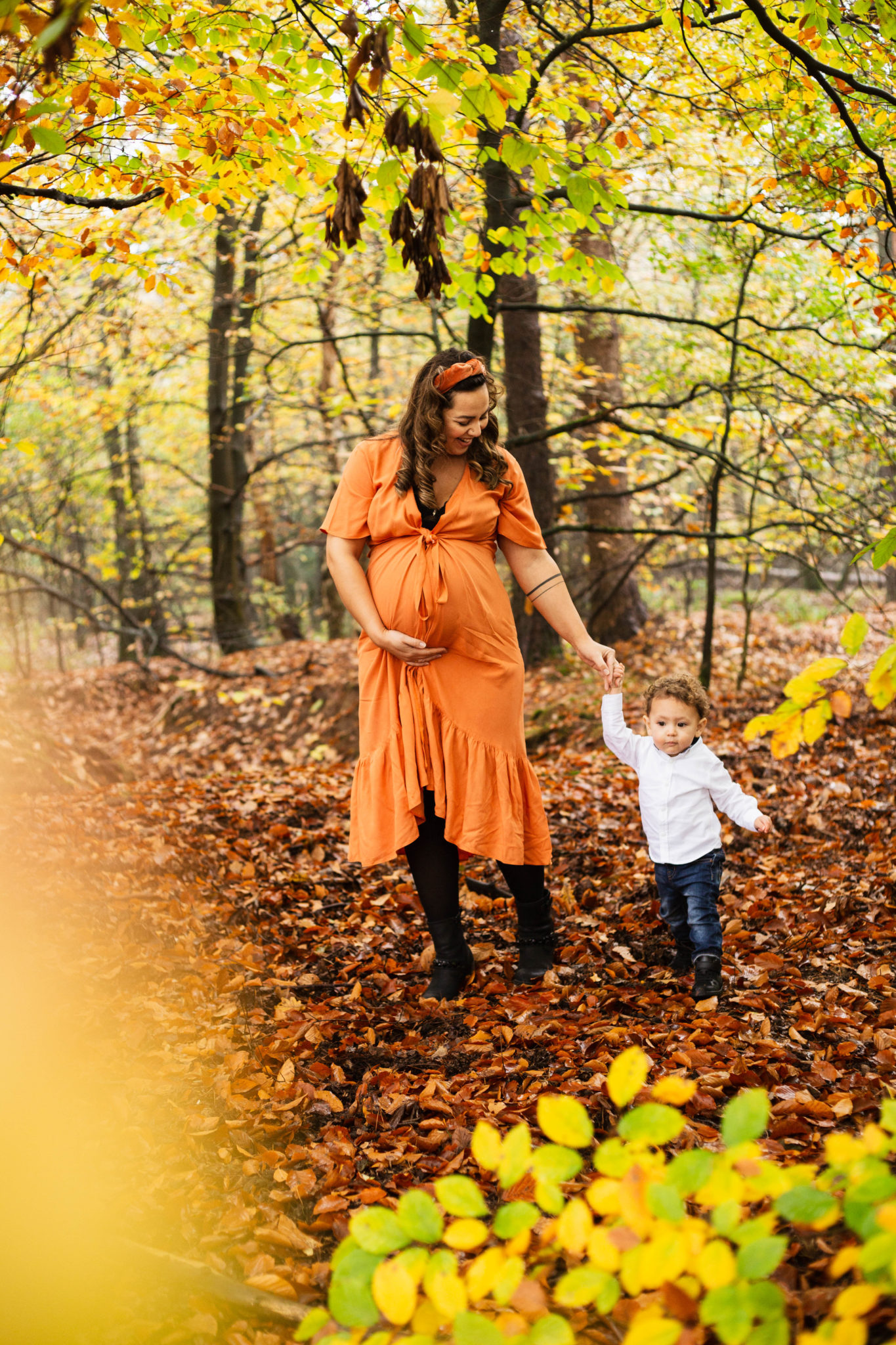 Zwangerschapsfotoshoot Harderwijk