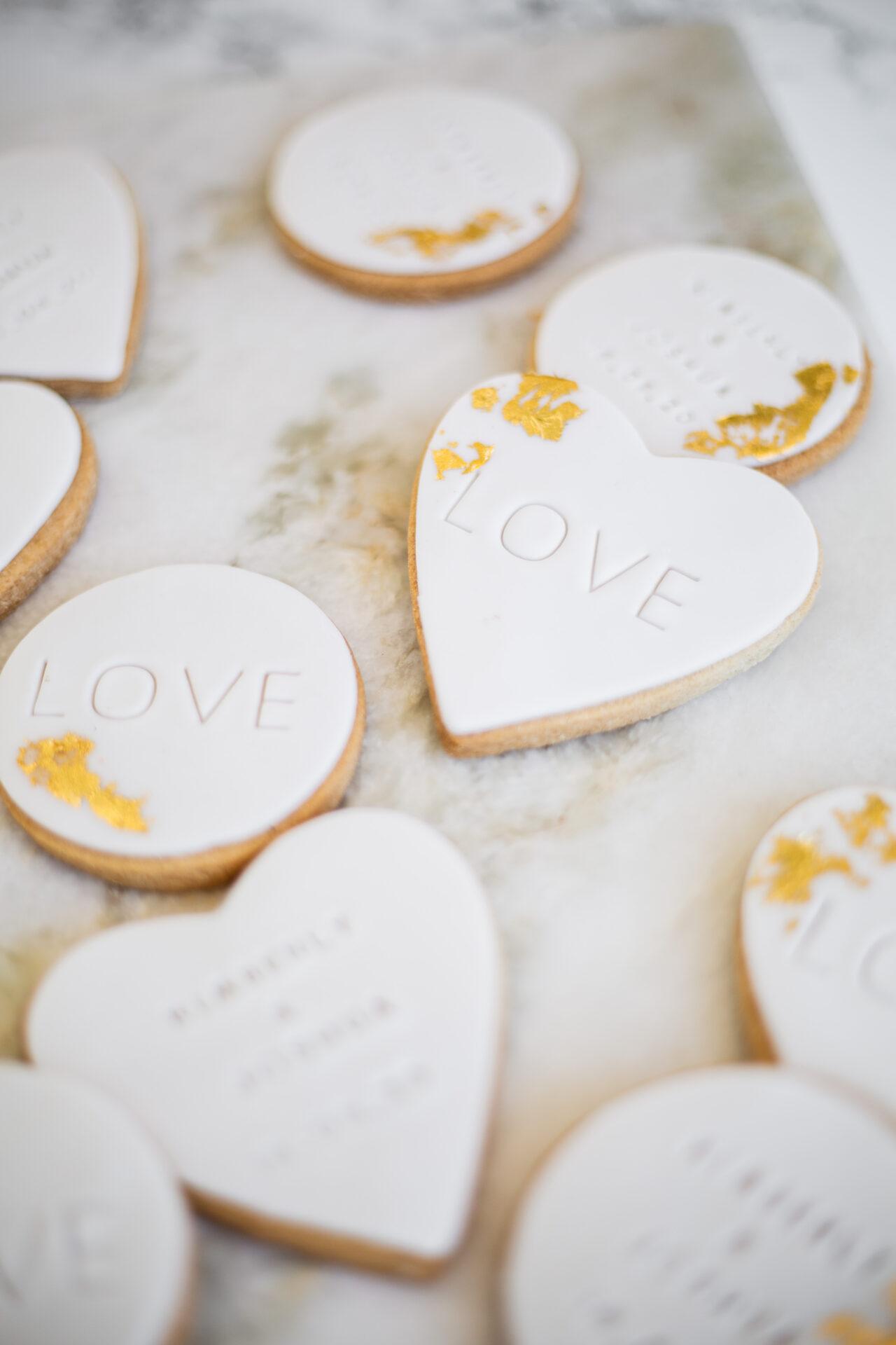 Sweet table koekjes bruiloft