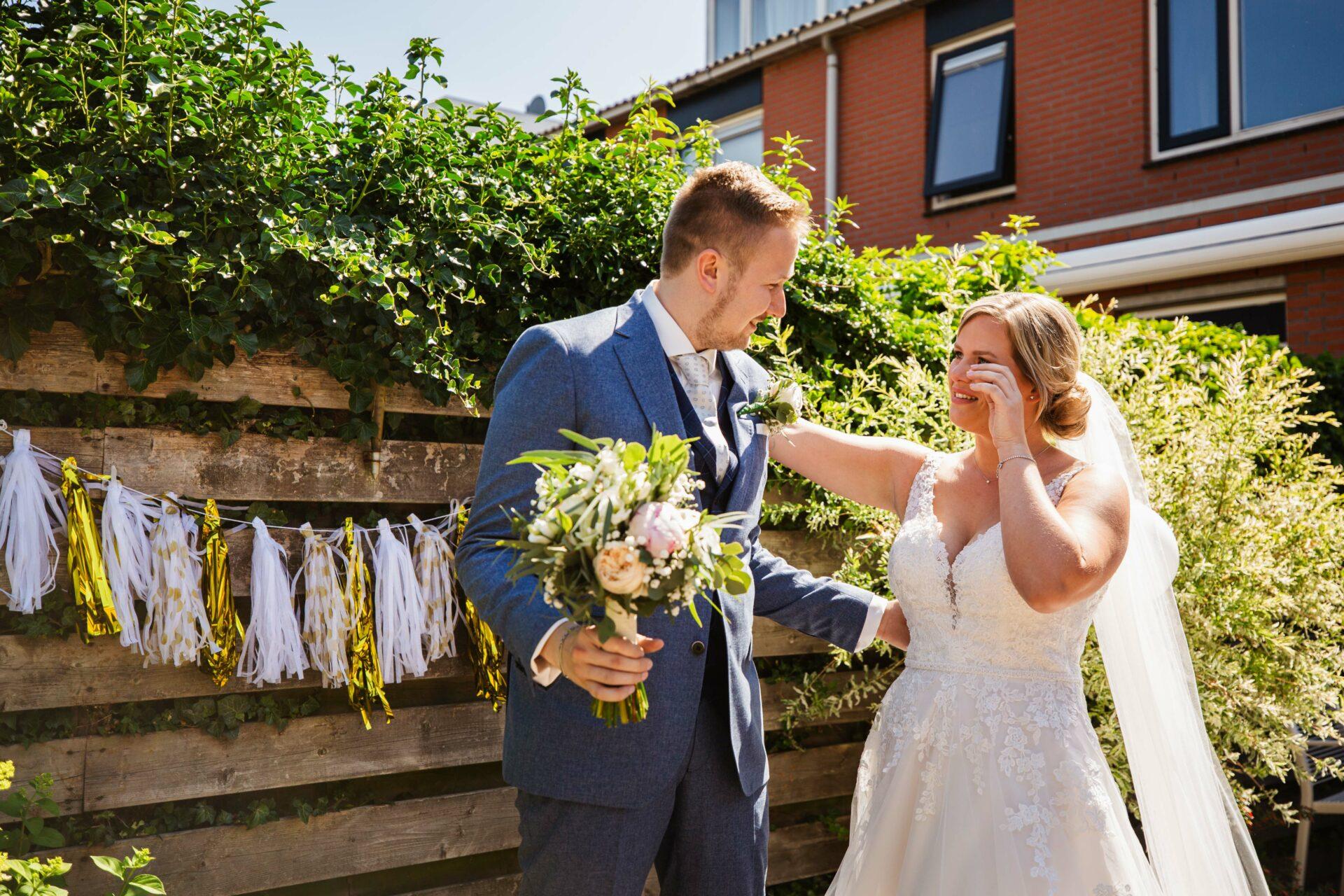 Firstlook bruiloft Amersfoort