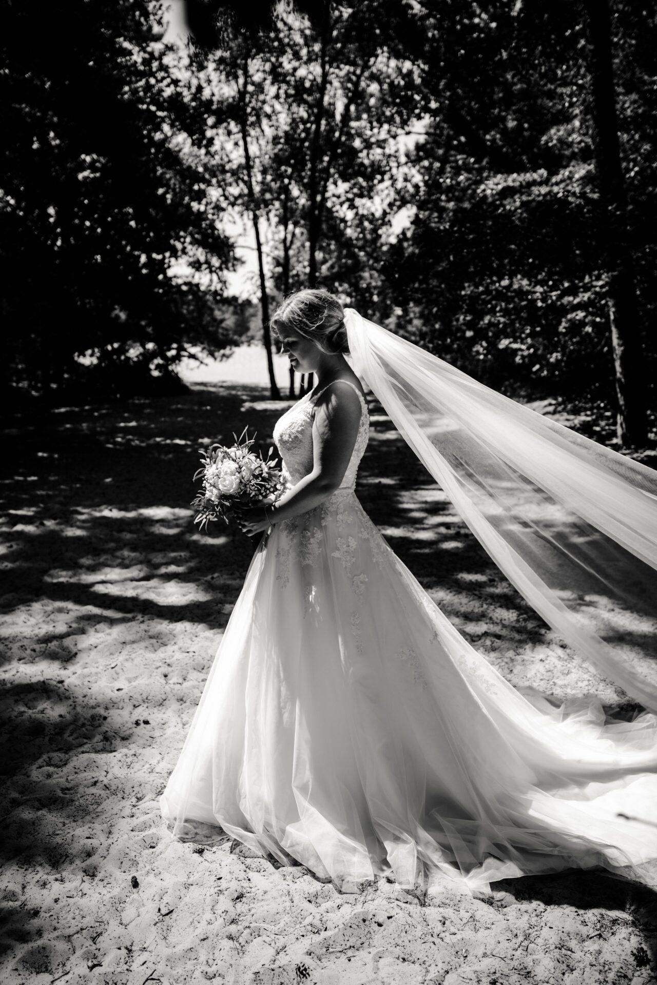 Bruid Fotoshoot Soester Duinen