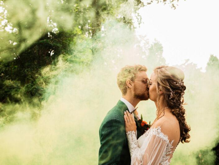 Bruiloft bij Hugo de Vries in Lunteren