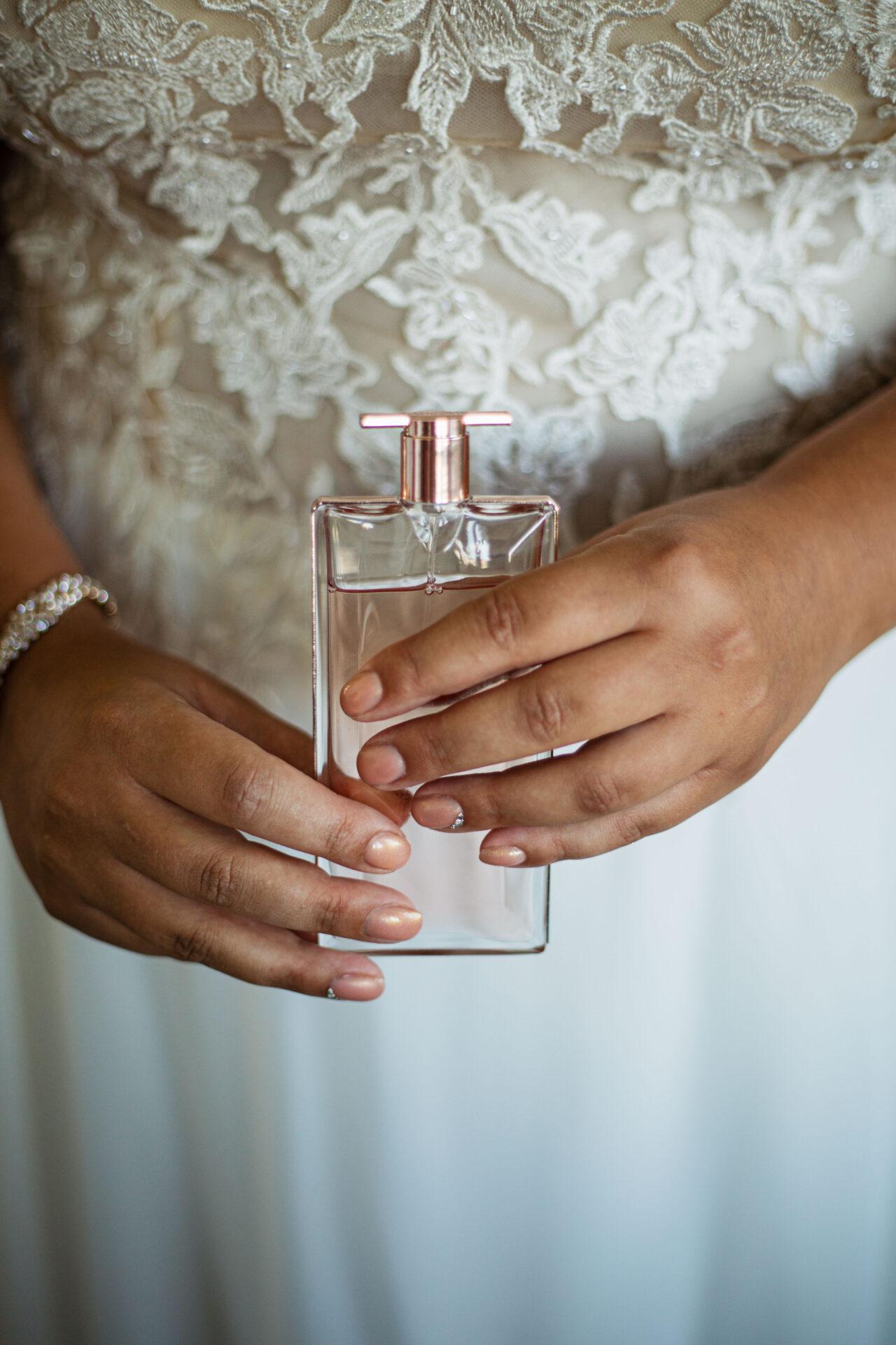welke parfum draag je op je trouwdag
