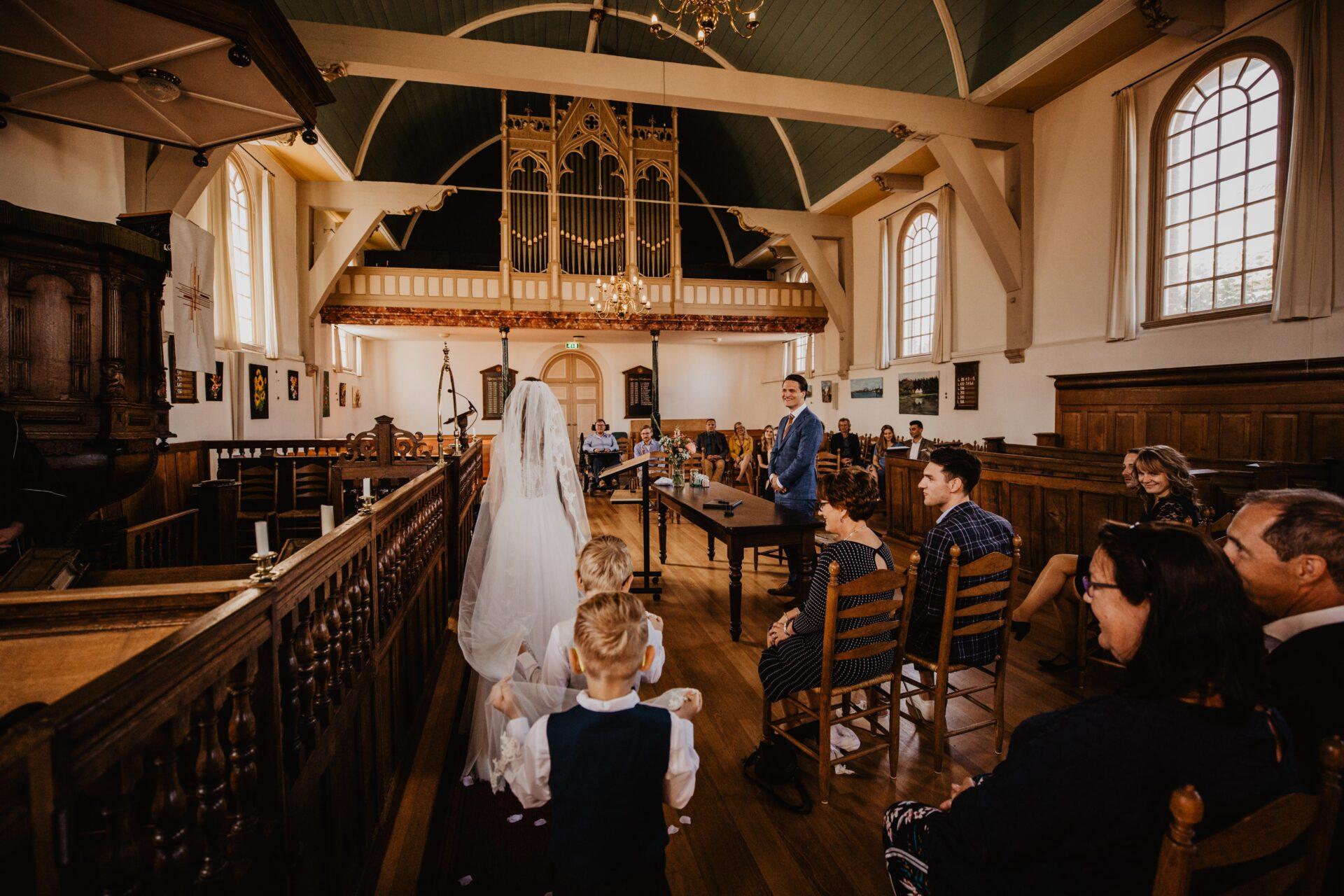 Ceremonie Kerk Terschelling