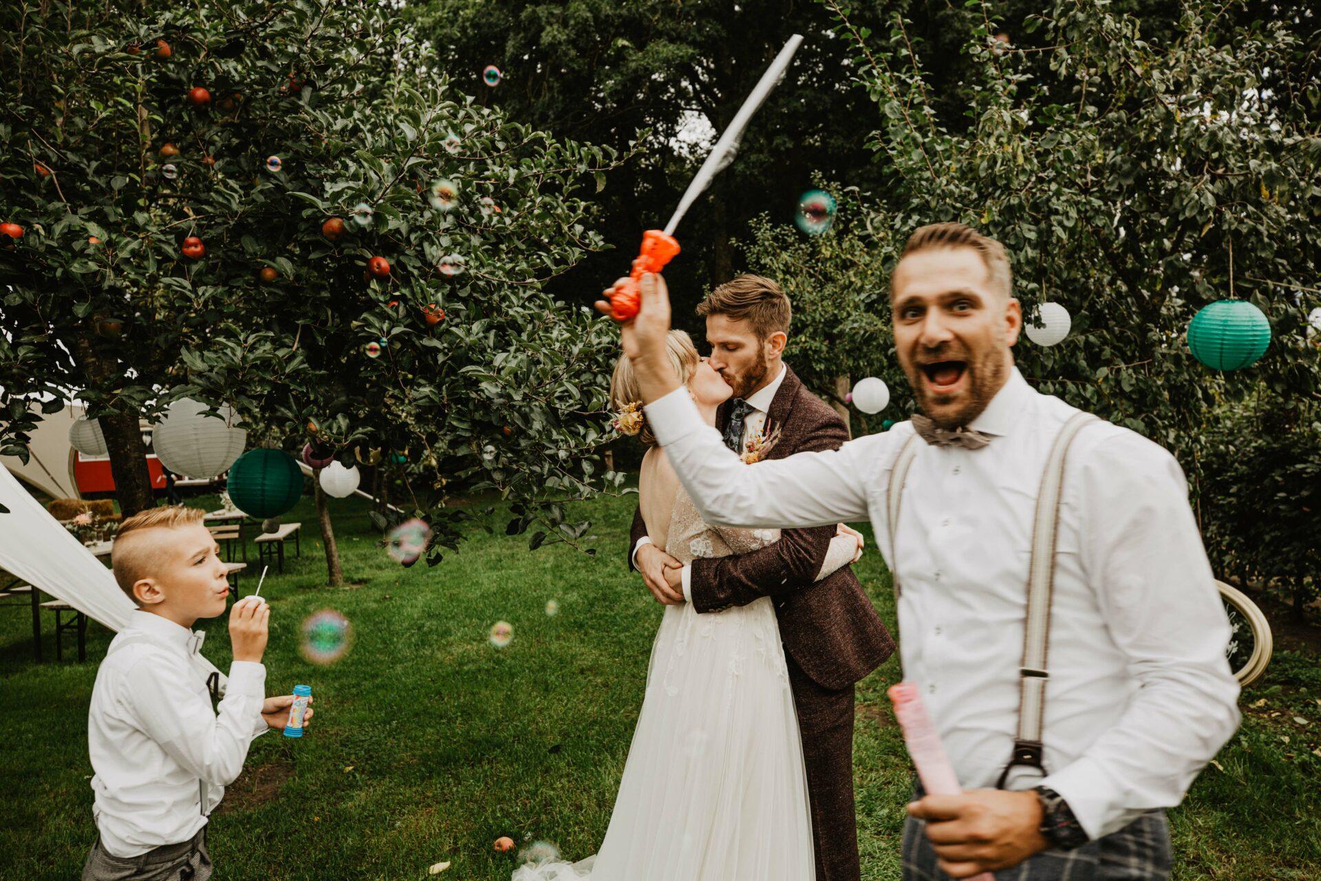 Fun wedding bellenblaas