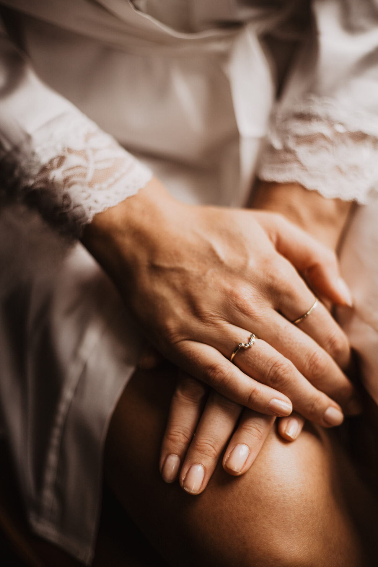 Verlovingsring Bruidsfotografie