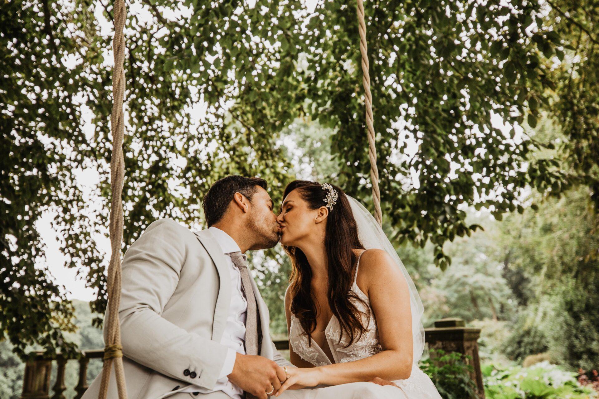 Schommel Bruiloft Bruidsfotograaf