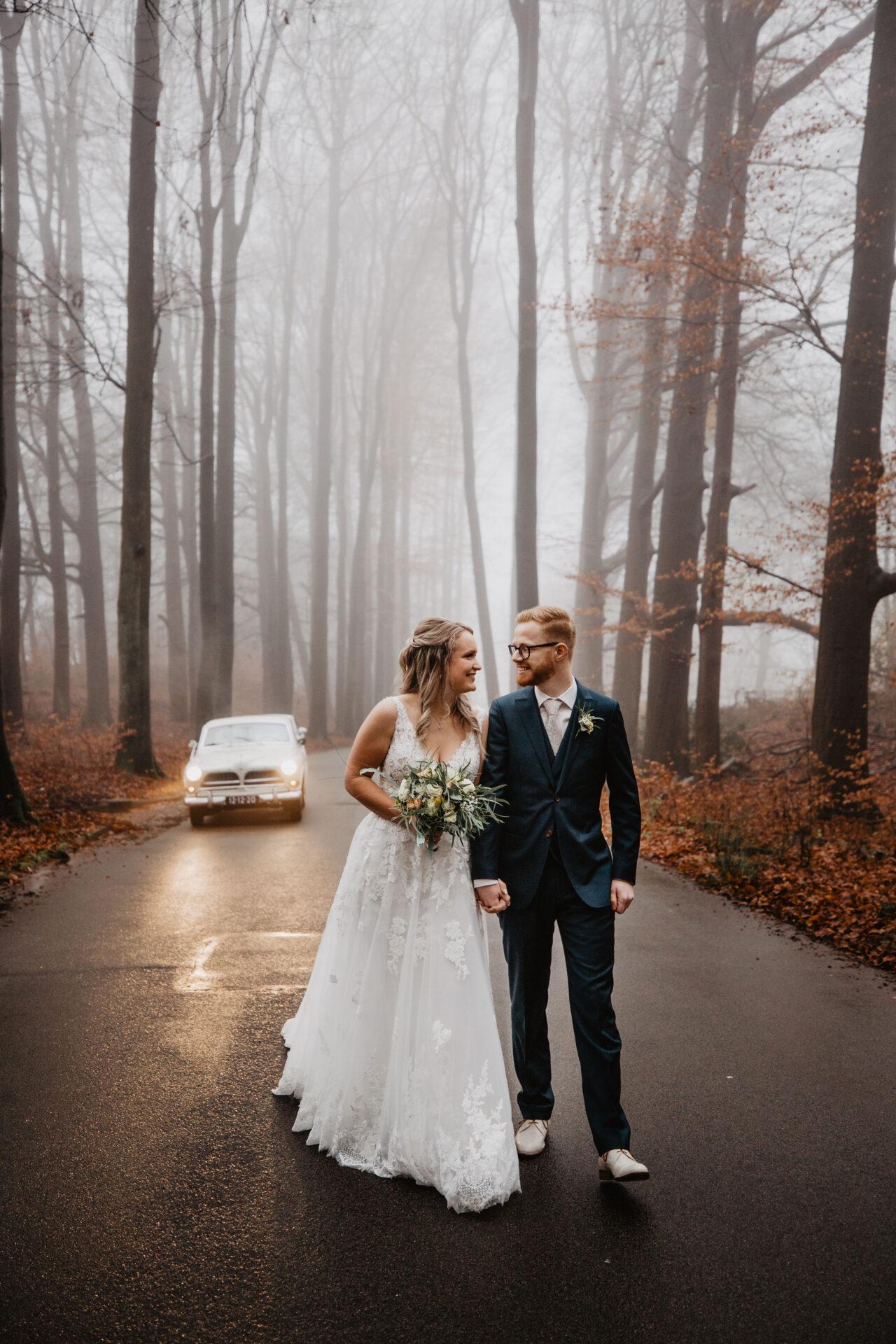 Bruidsfotografie mist
