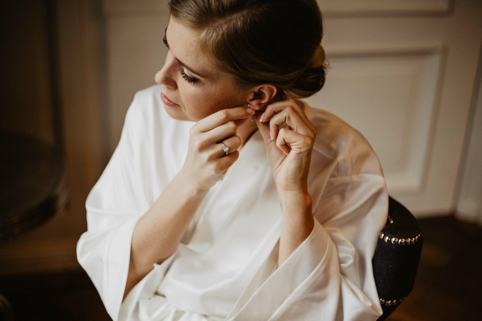 Getting ready bruid