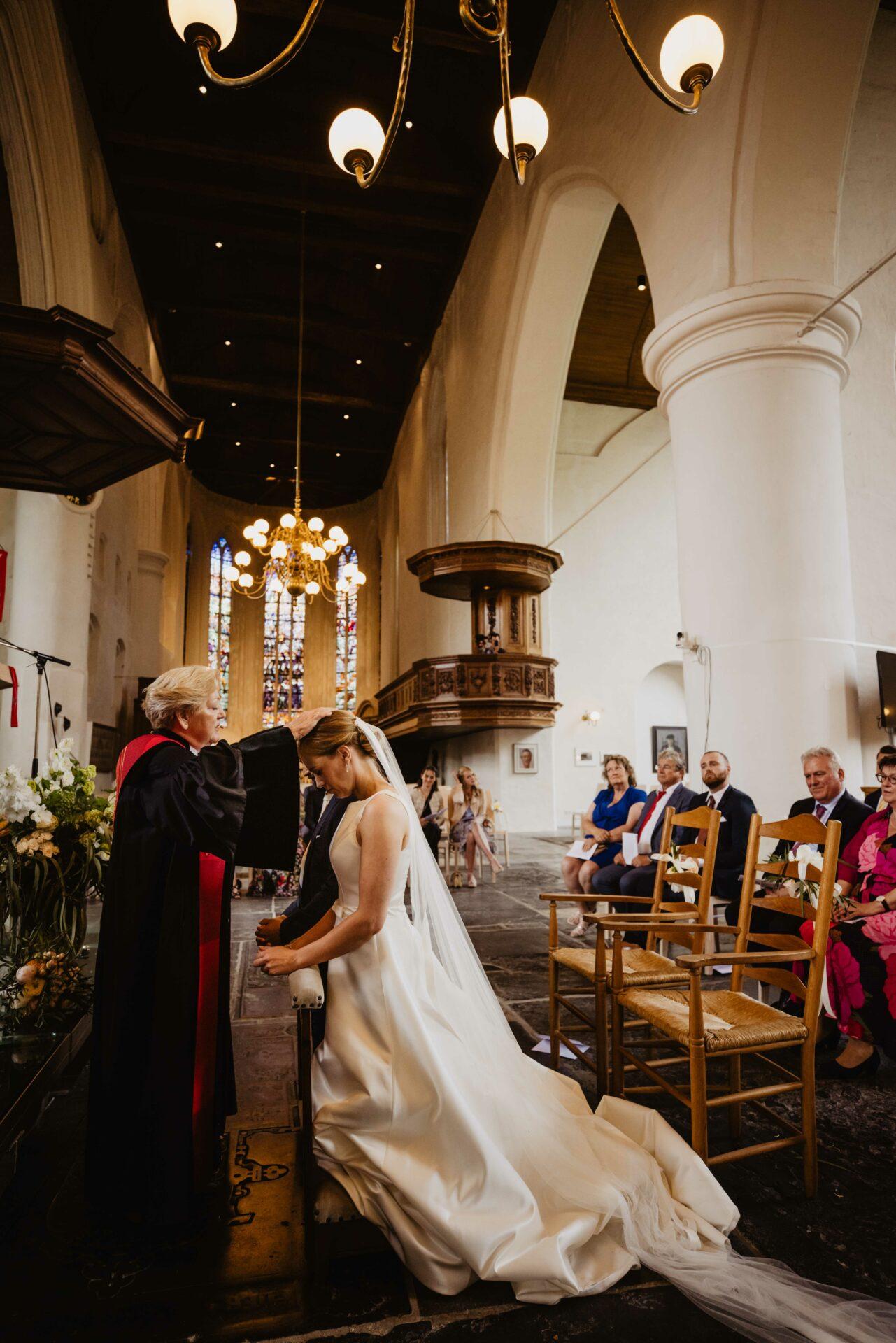 Kerkelijke inzegening bruiloft