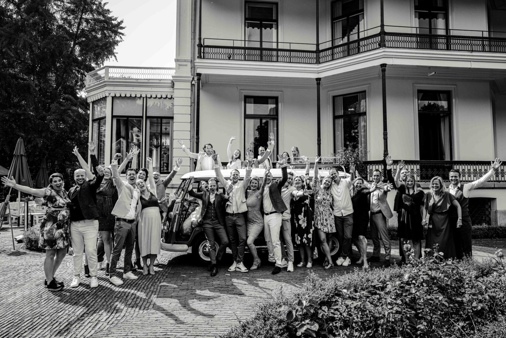 Groepsfoto Kasteel de Vanenburg