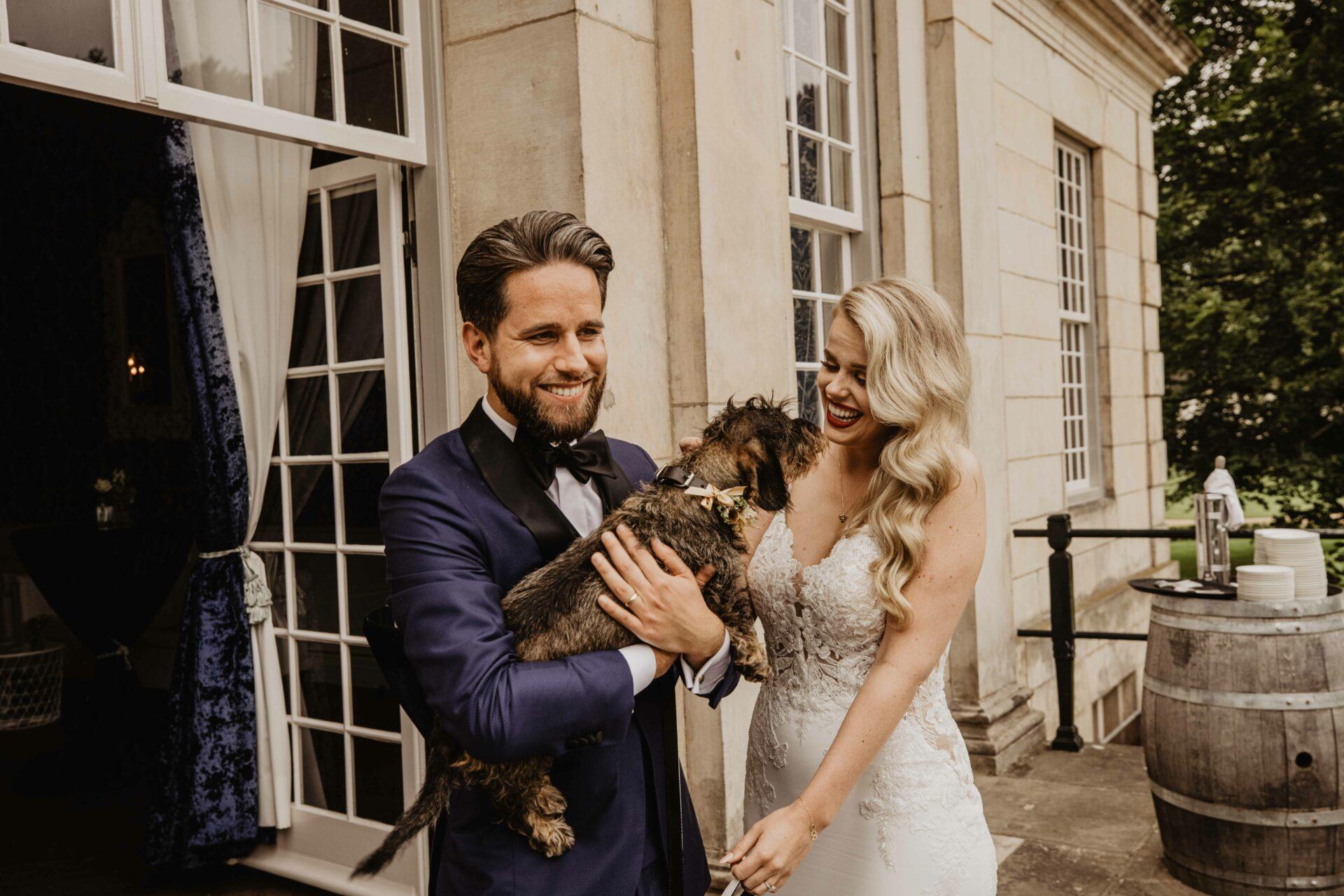 Huisdieren op je bruiloft