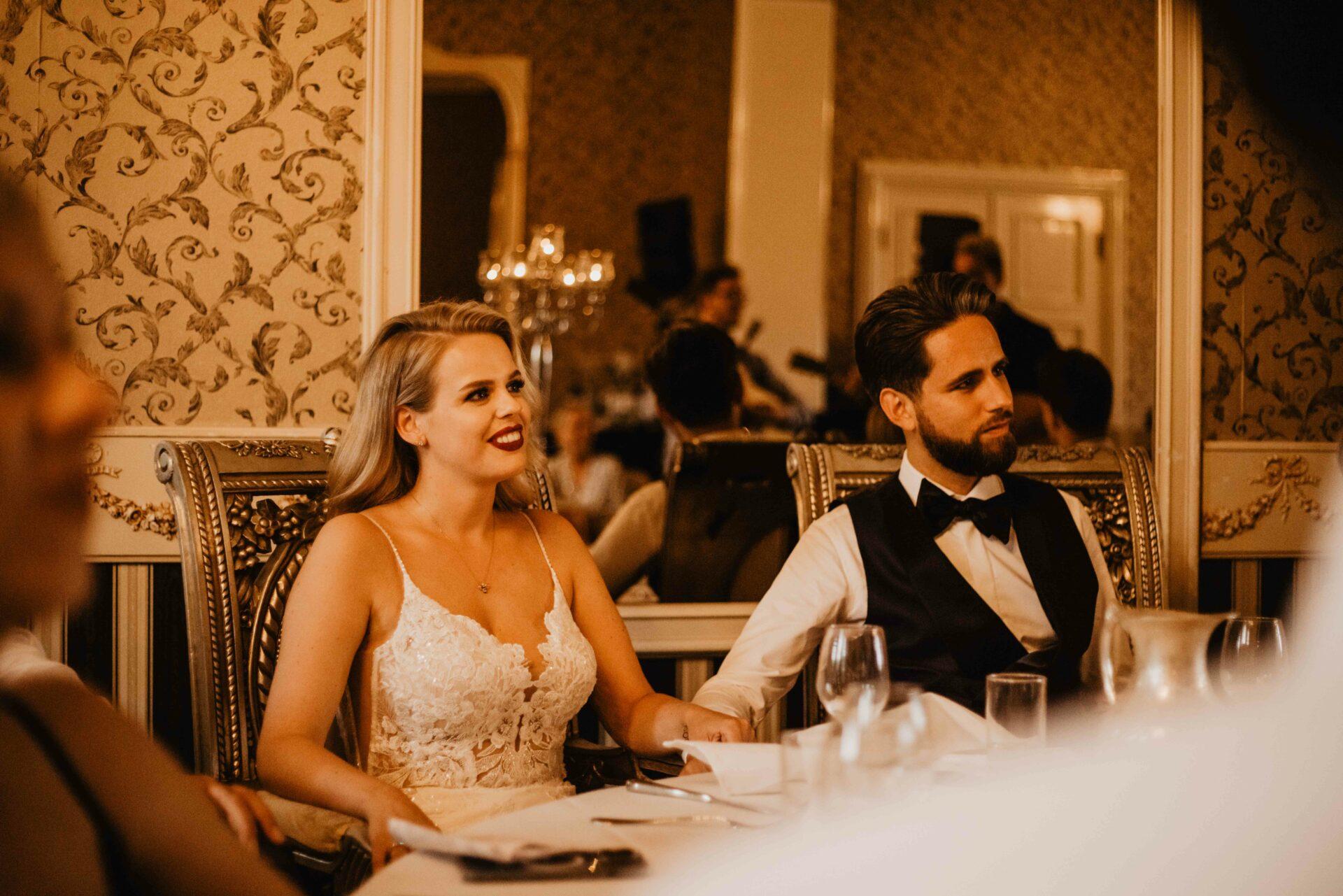 Bruidsfotograaf diner