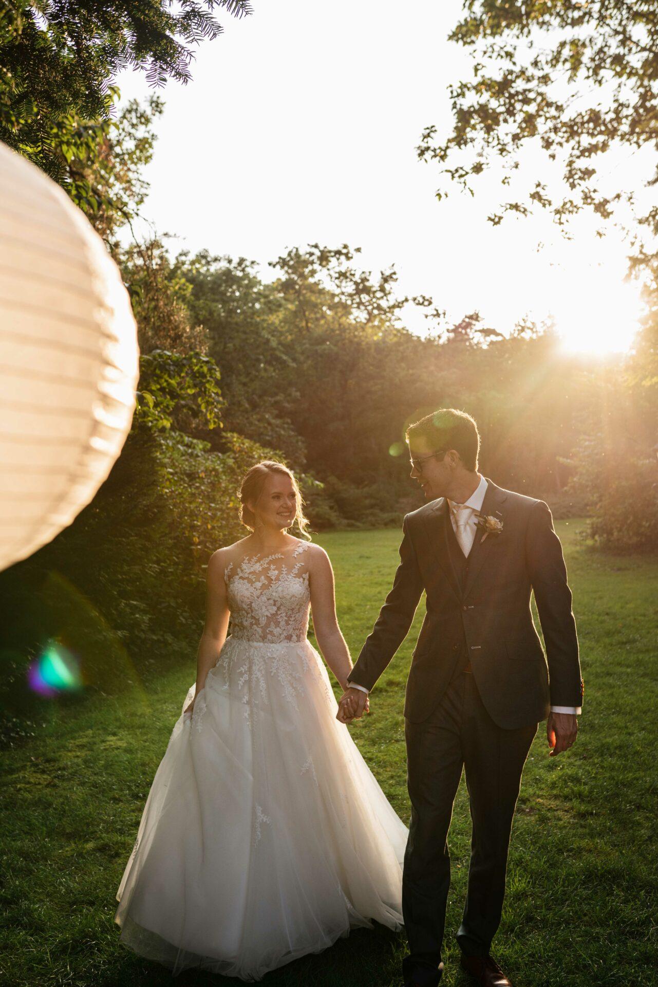 Golden hour bruiloft