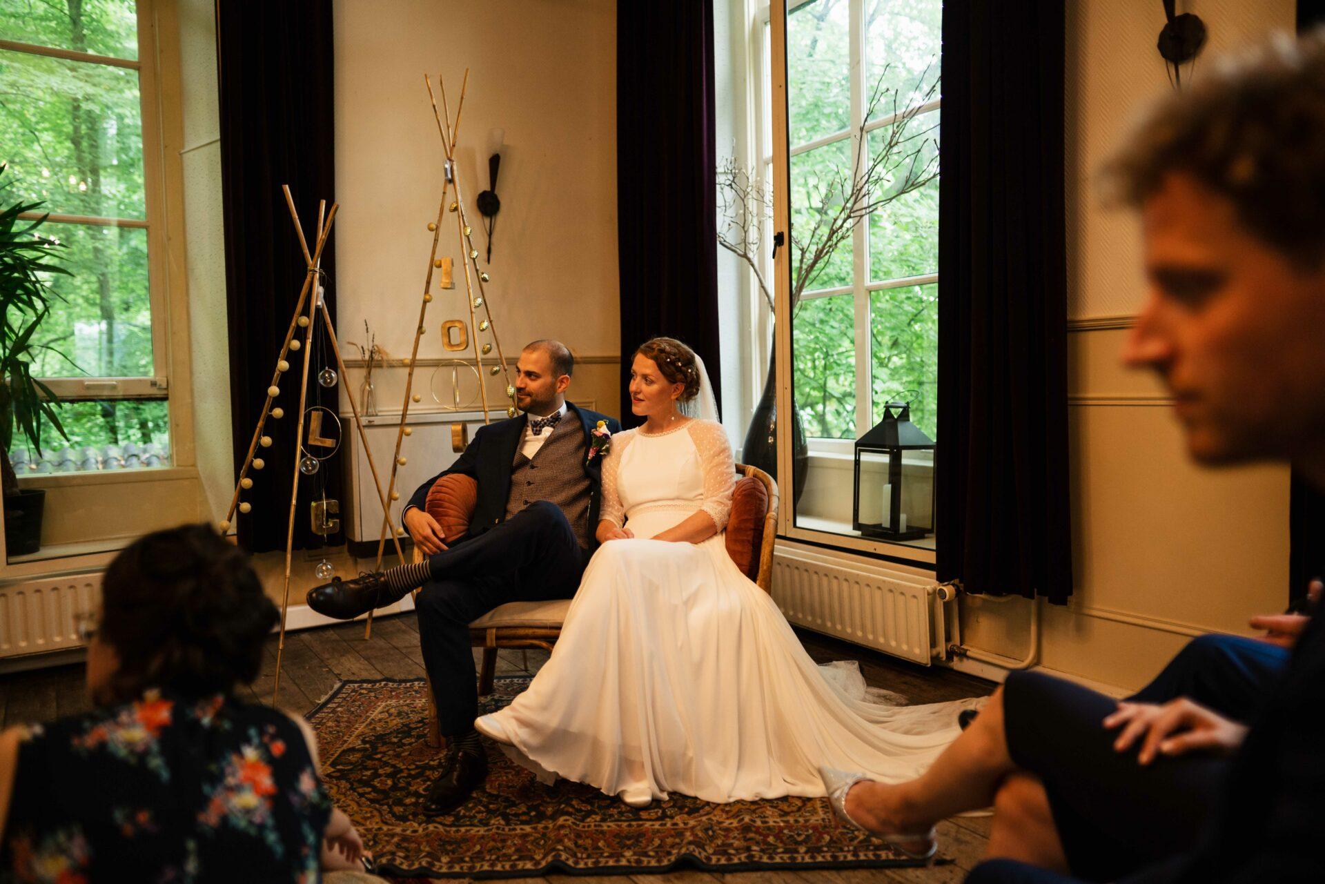 Ceremonie trouwen