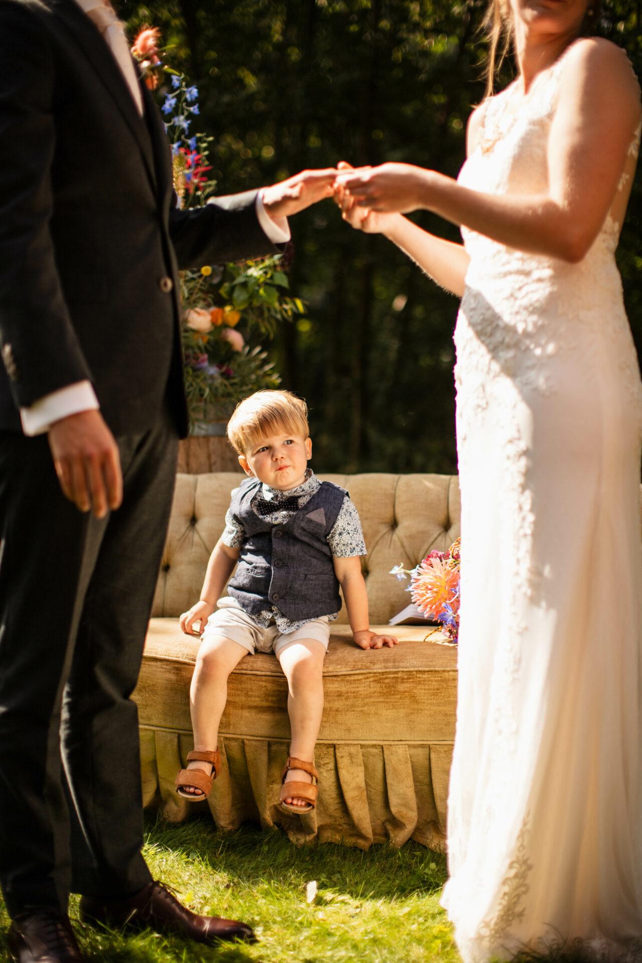Bruiloft met kinderen